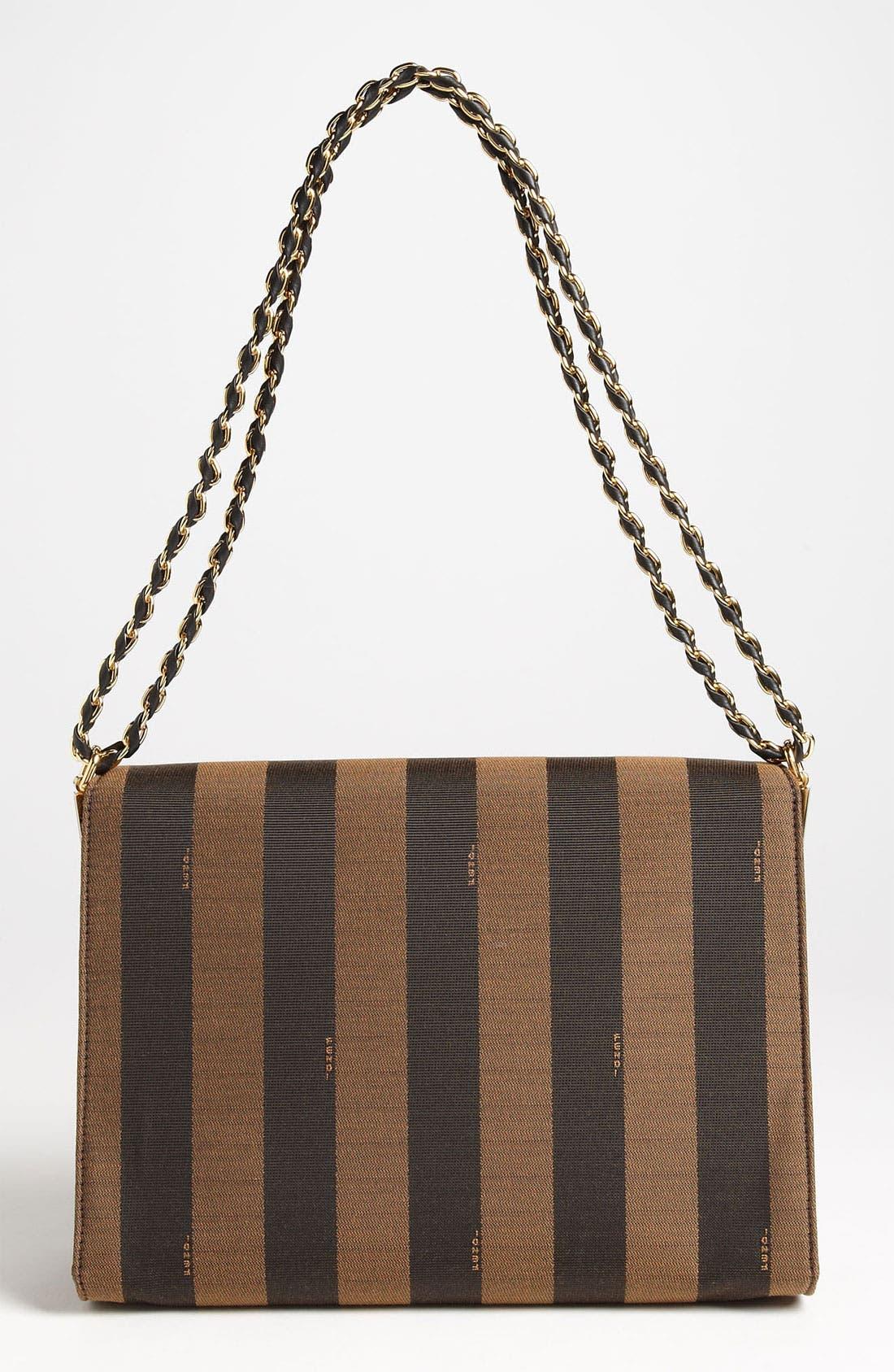 Alternate Image 4  - Fendi 'Large Pequin Claudia' Shoulder Bag