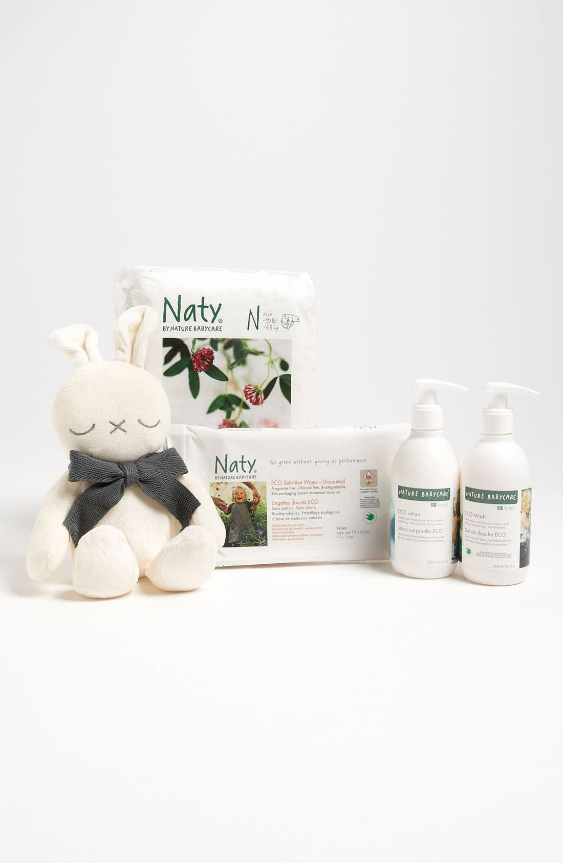 Alternate Image 1 Selected - Naty by Nature Babycare Diaper Starter Set