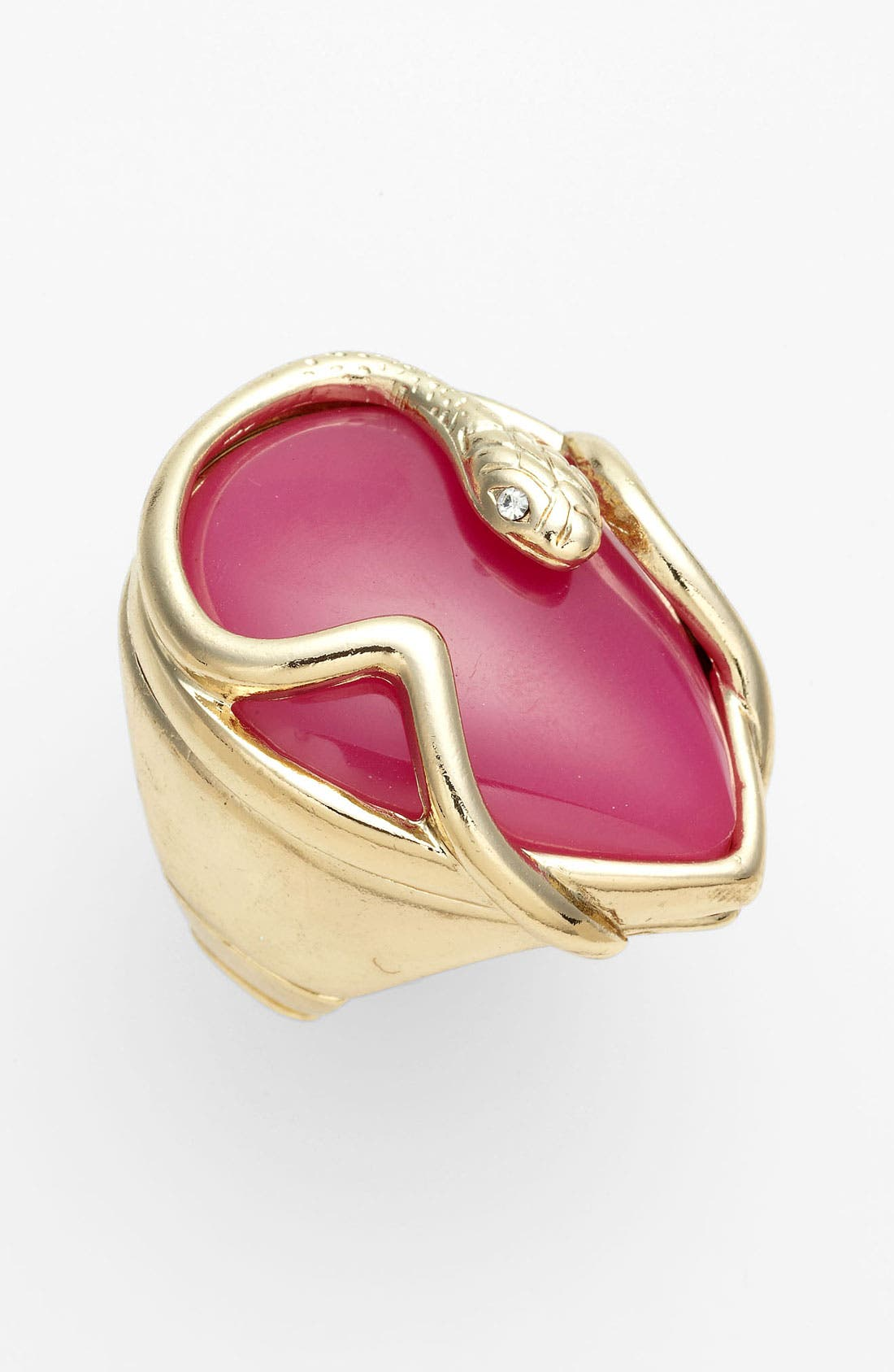 Alternate Image 1 Selected - Jessica Simpson Stretch Snake Ring