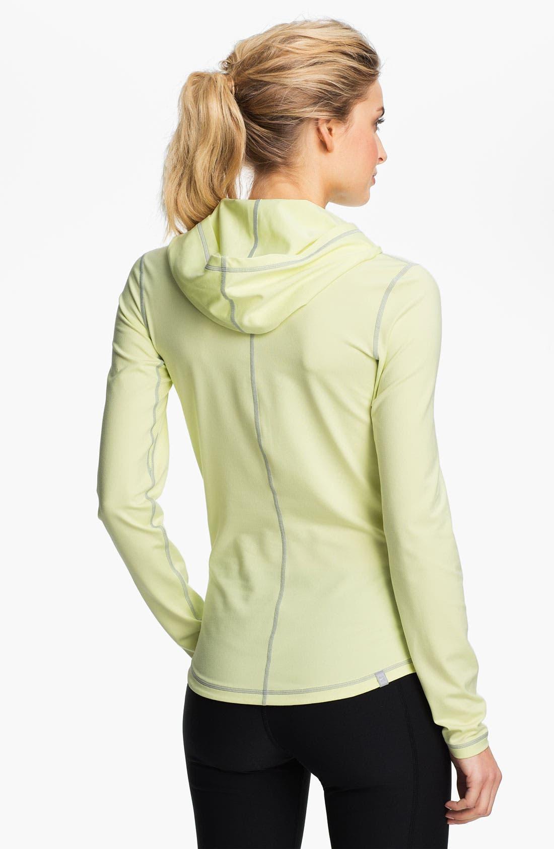 Alternate Image 2  - Nike Half Zip Hoodie