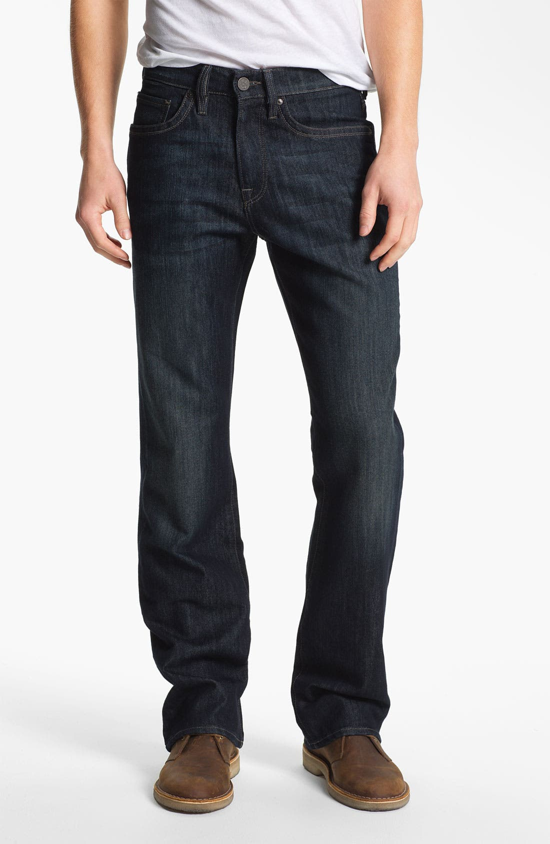 Main Image - 34 Heritage 'Charisma' Straight Leg Jeans (Deep) (Online Only)