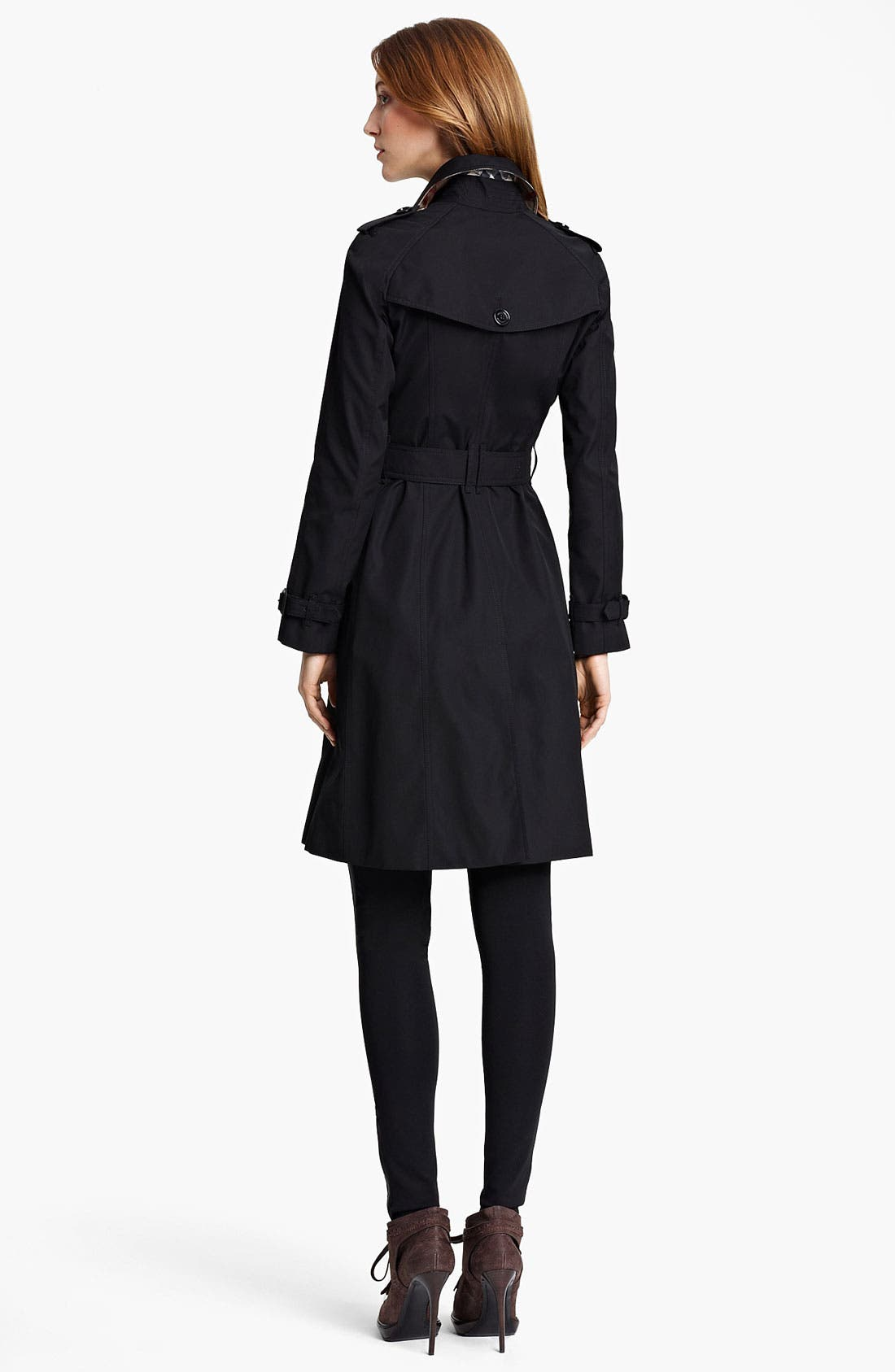Alternate Image 2  - Burberry London Belted Trench Coat
