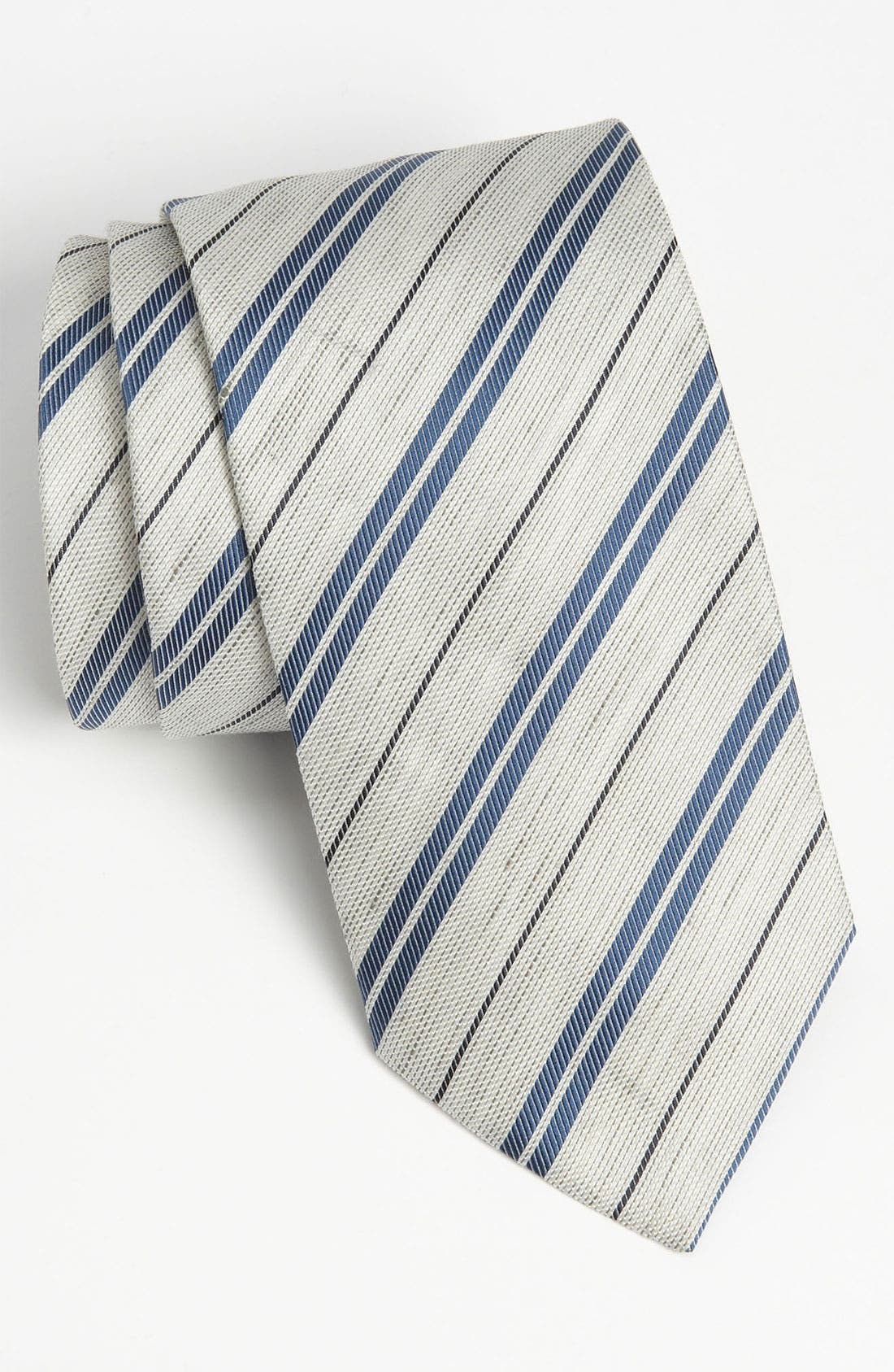Alternate Image 1 Selected - Armani Collezioni Silk Blend Tie