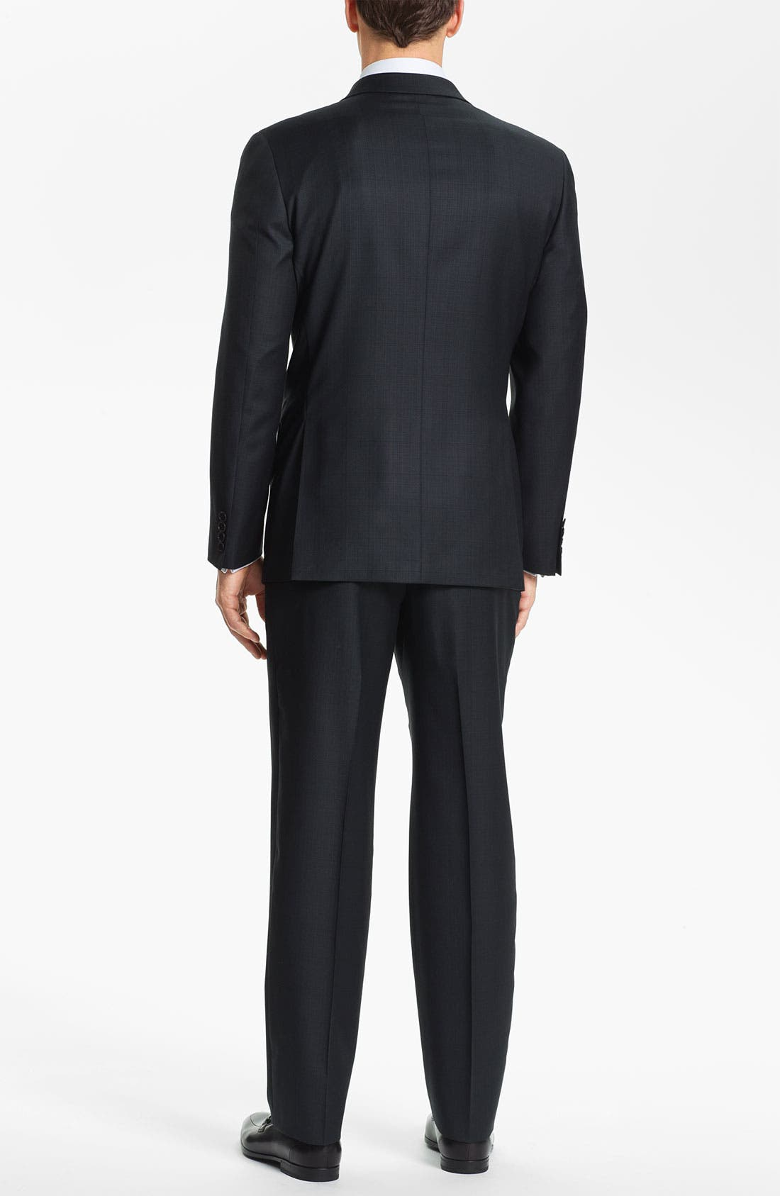 Alternate Image 3  - Joseph Abboud Trim Fit Three Piece Suit