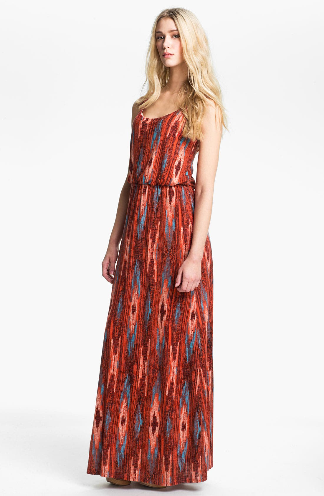 Alternate Image 1 Selected - Ella Moss 'Santa Fe' Print Maxi Dress