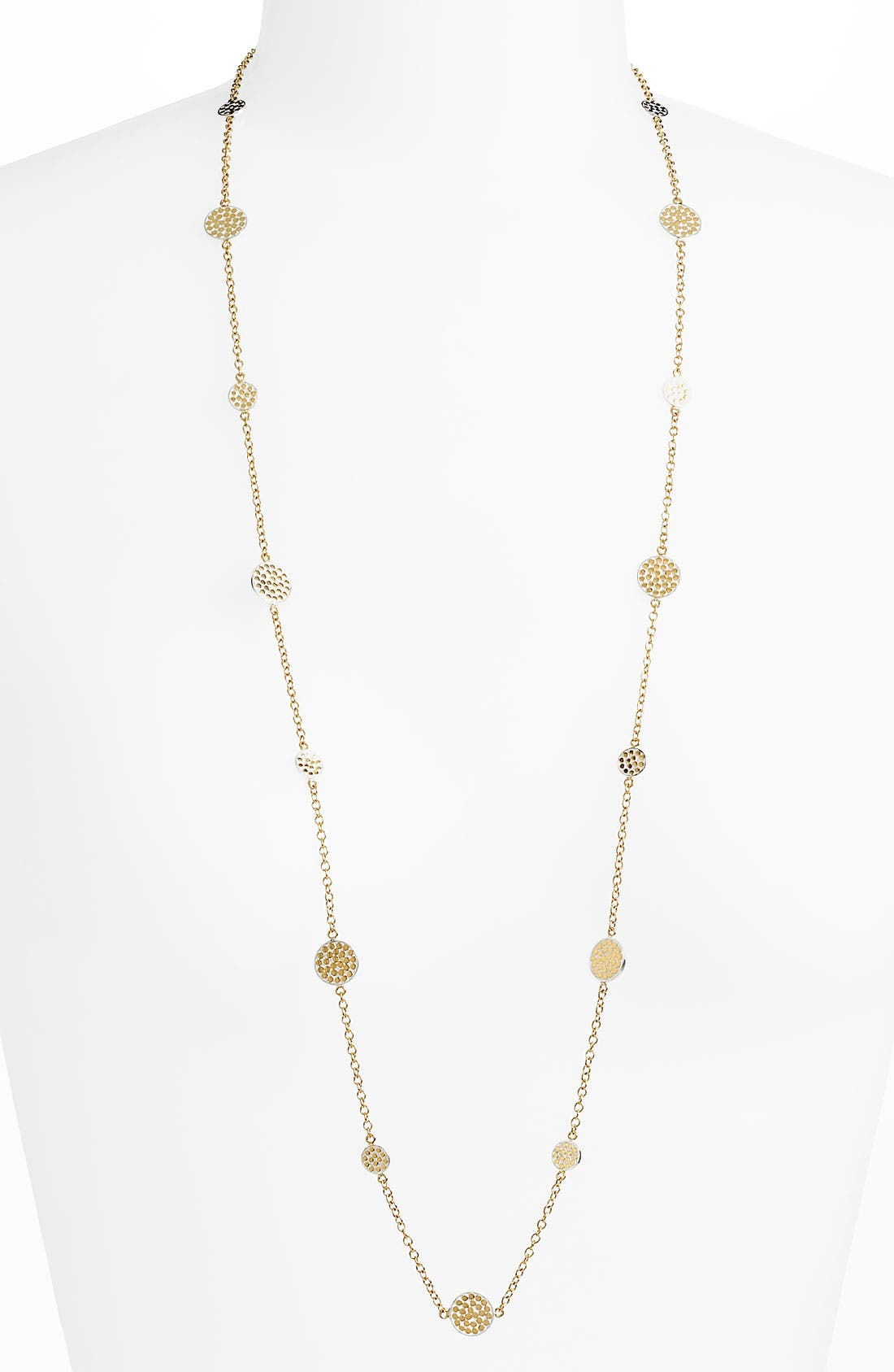 Alternate Image 1 Selected - Anna Beck 'Bali' Long Strand Disc Necklace