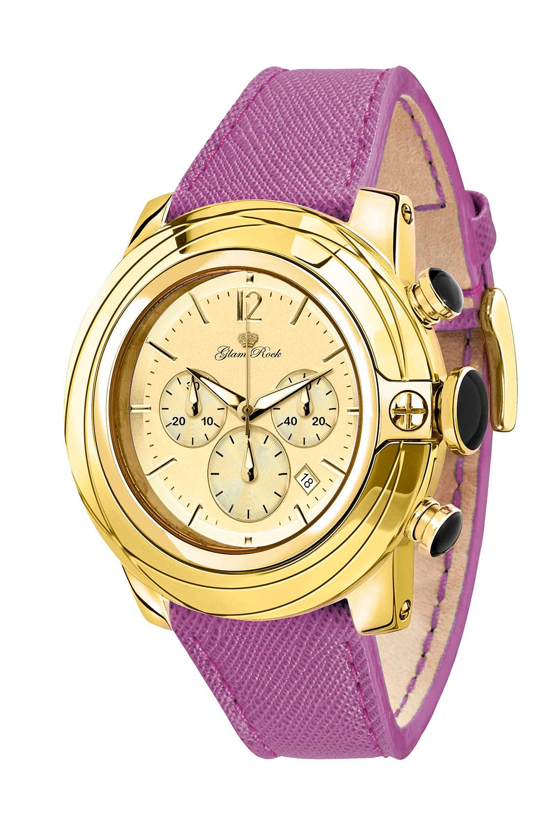 Alternate Image 1 Selected - Glam Rock 'So Be - Lady' Chronograph Watch
