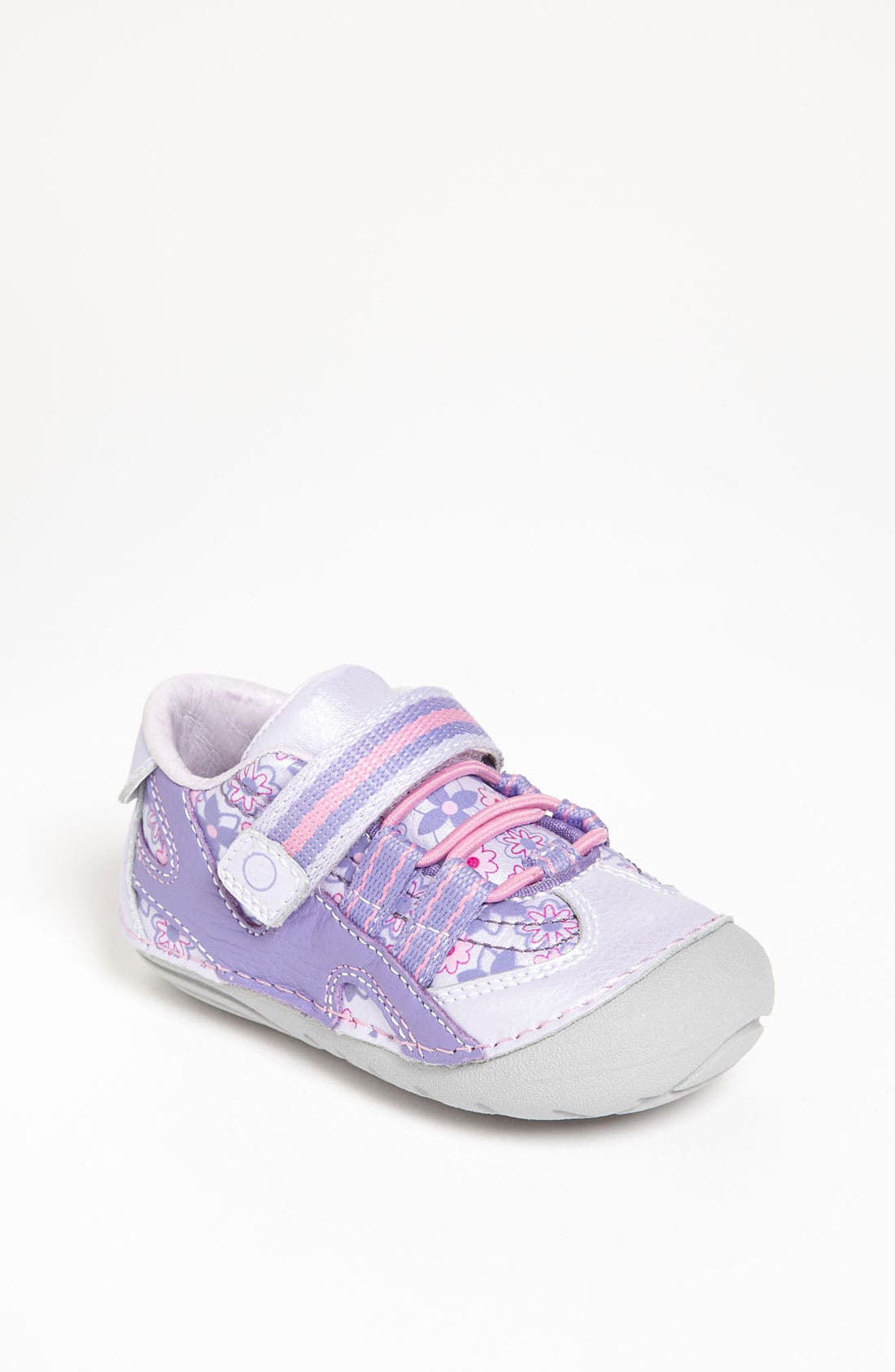 Alternate Image 1 Selected - Stride Rite 'Stephanie' Sneaker (Baby & Walker)