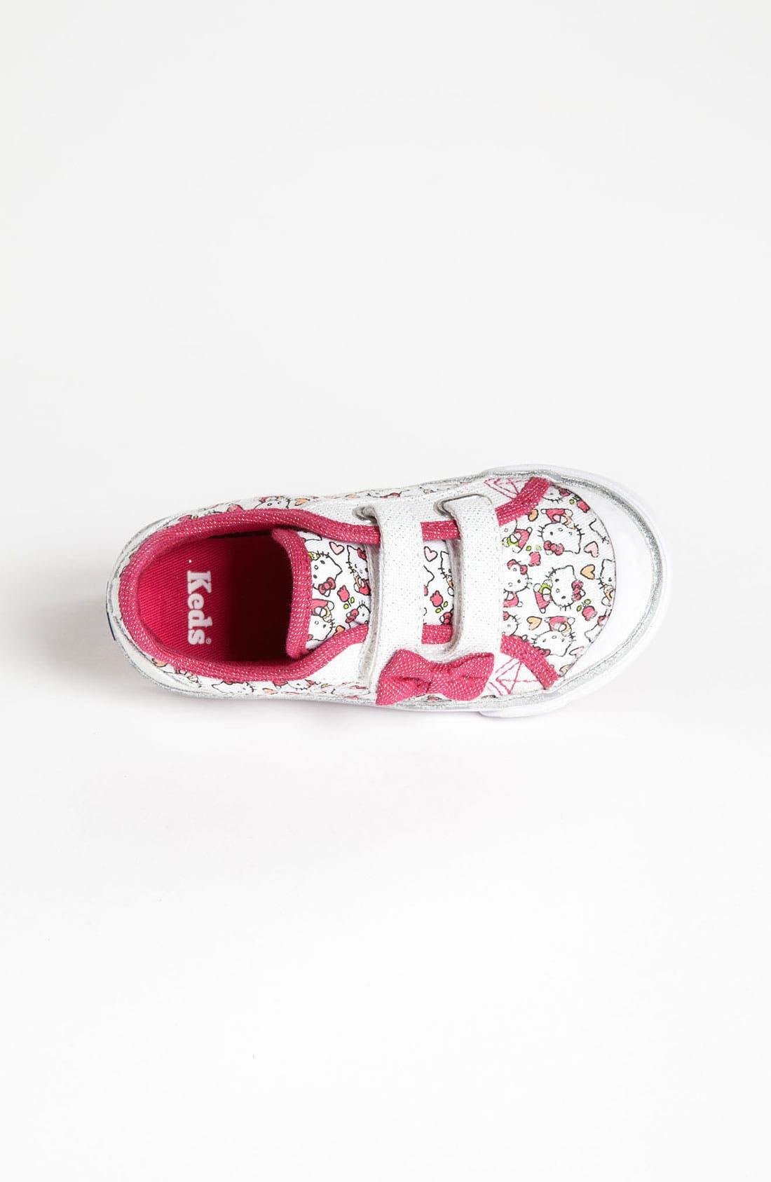Alternate Image 3  - Keds® 'Scribble Kitty' Sneaker (Walker & Toddler)