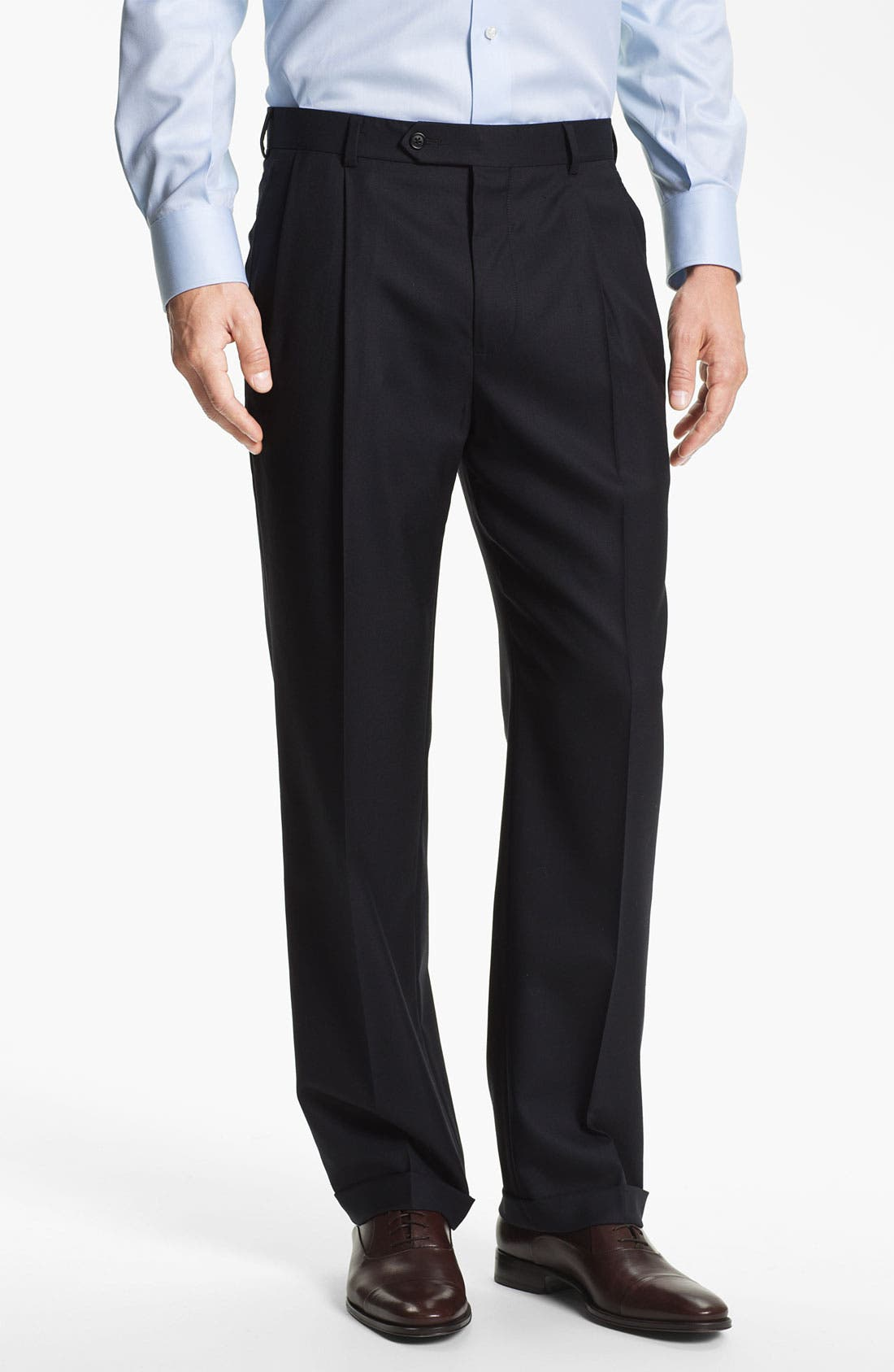 Alternate Image 4  - Brooks Brothers 'Madison' Wool Suit