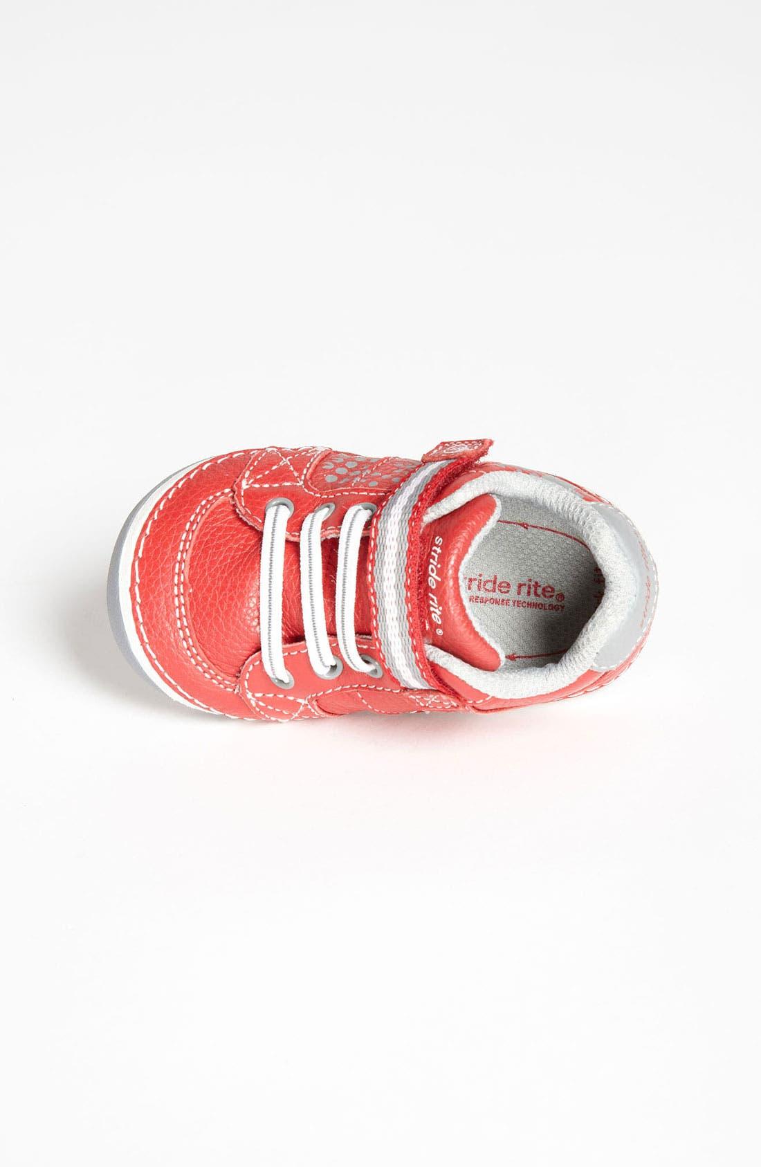 'Artie' Sneaker,                             Alternate thumbnail 3, color,                             Red/ Grey