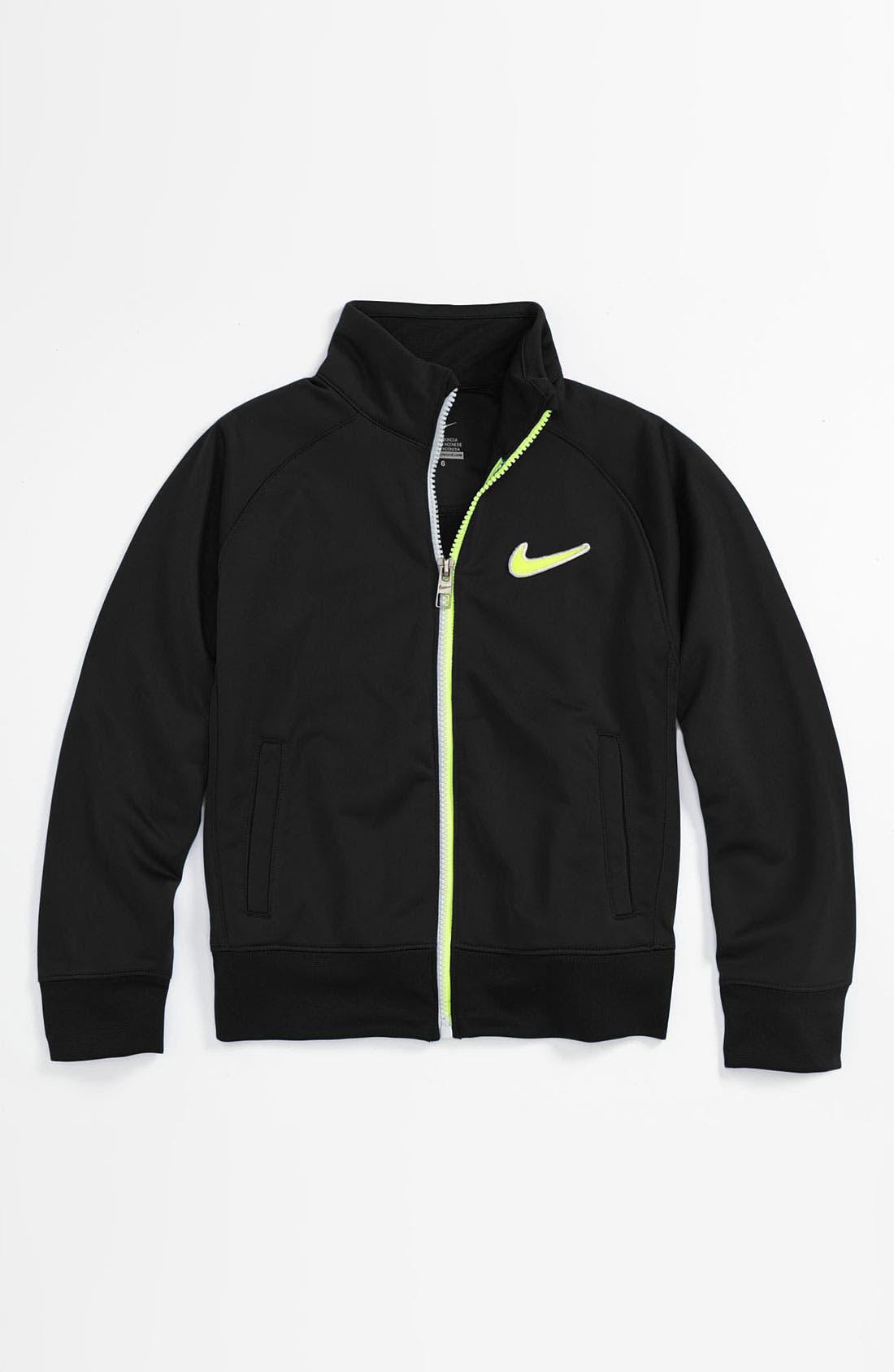 Alternate Image 1 Selected - Nike Track Jacket (Little Boys)