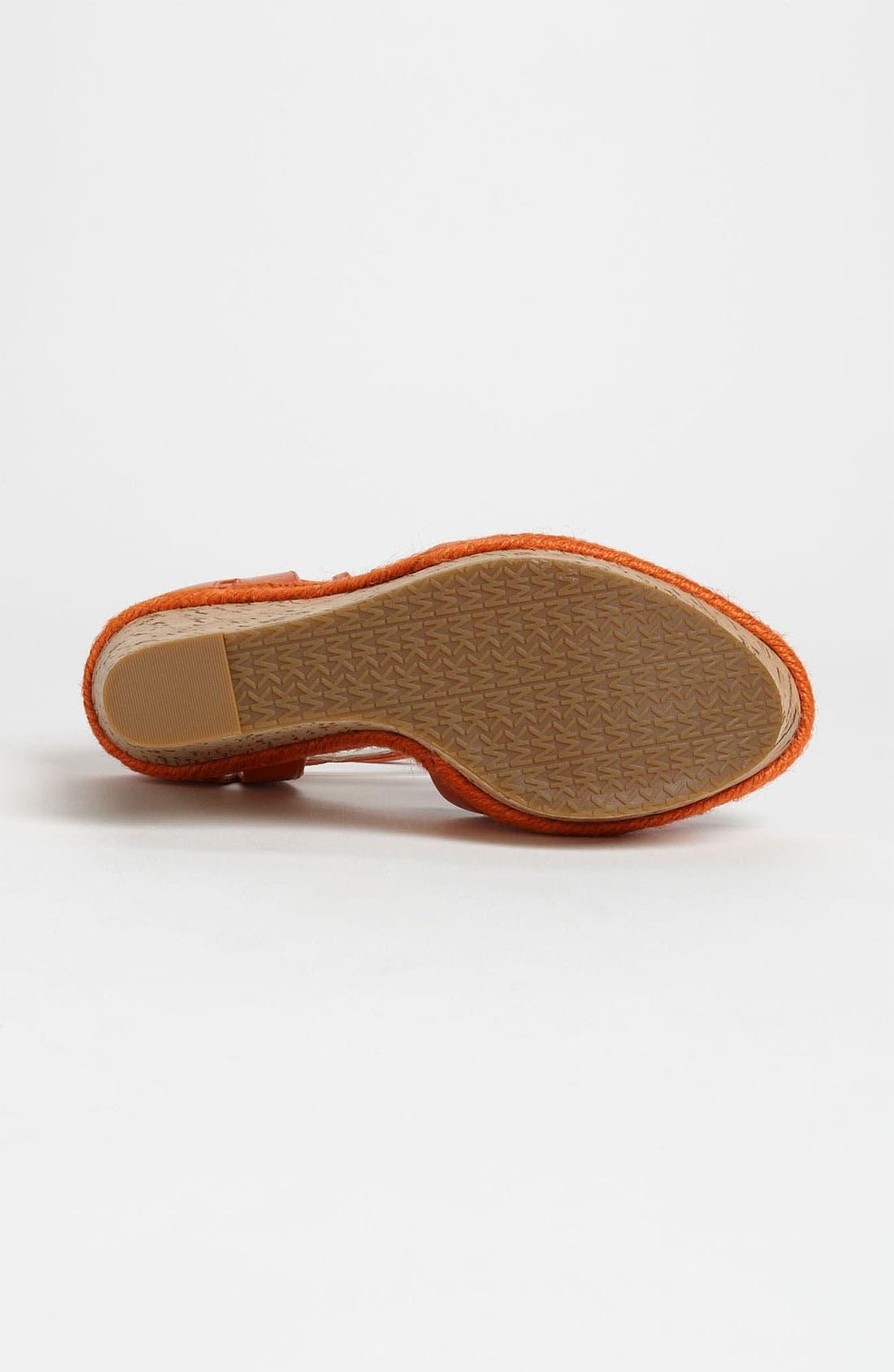 Alternate Image 4  - MICHAEL Michael Kors 'Axton' Sandal