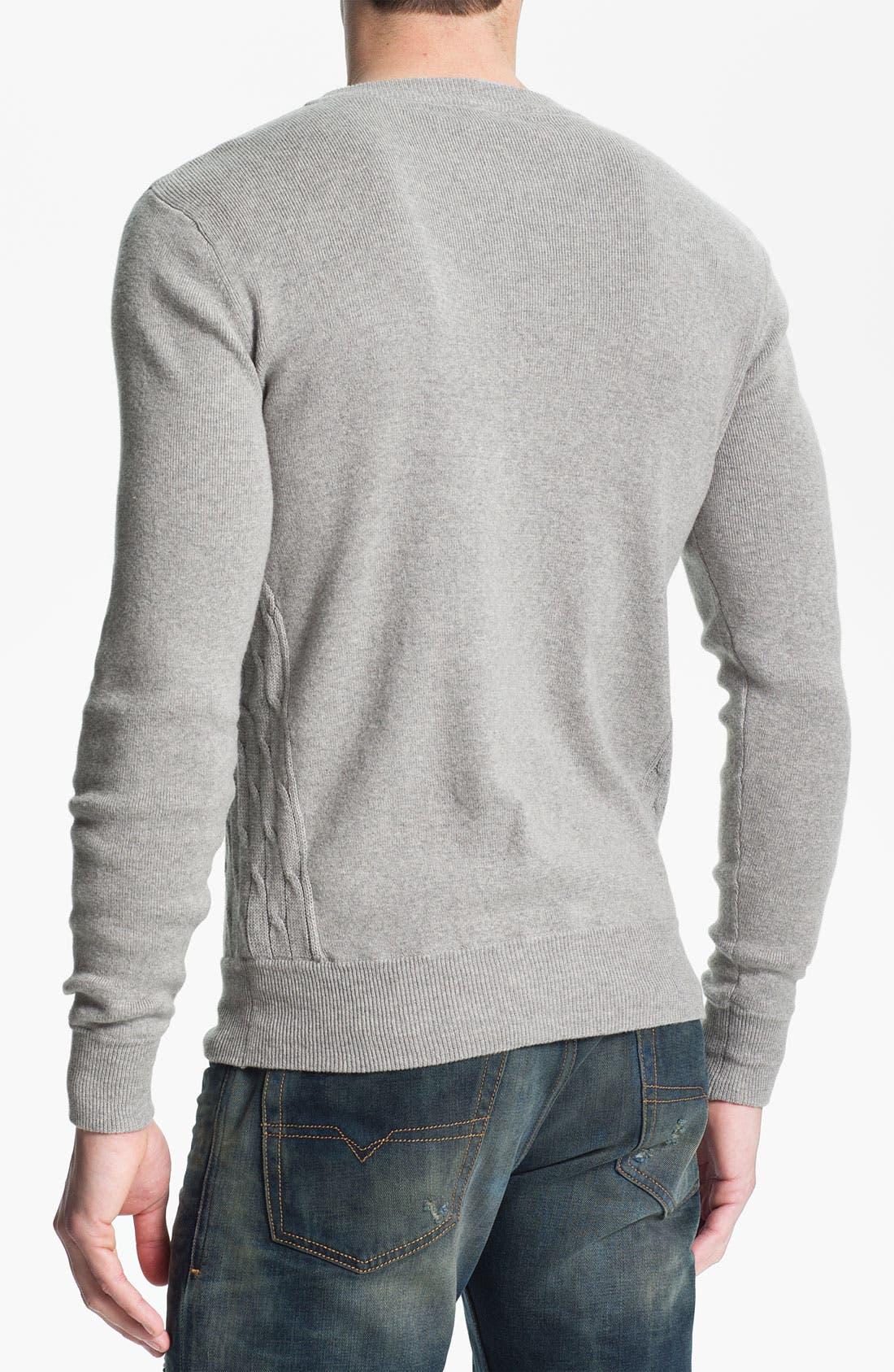 Alternate Image 2  - 55DSL 'Kiramic' Crewneck Sweater