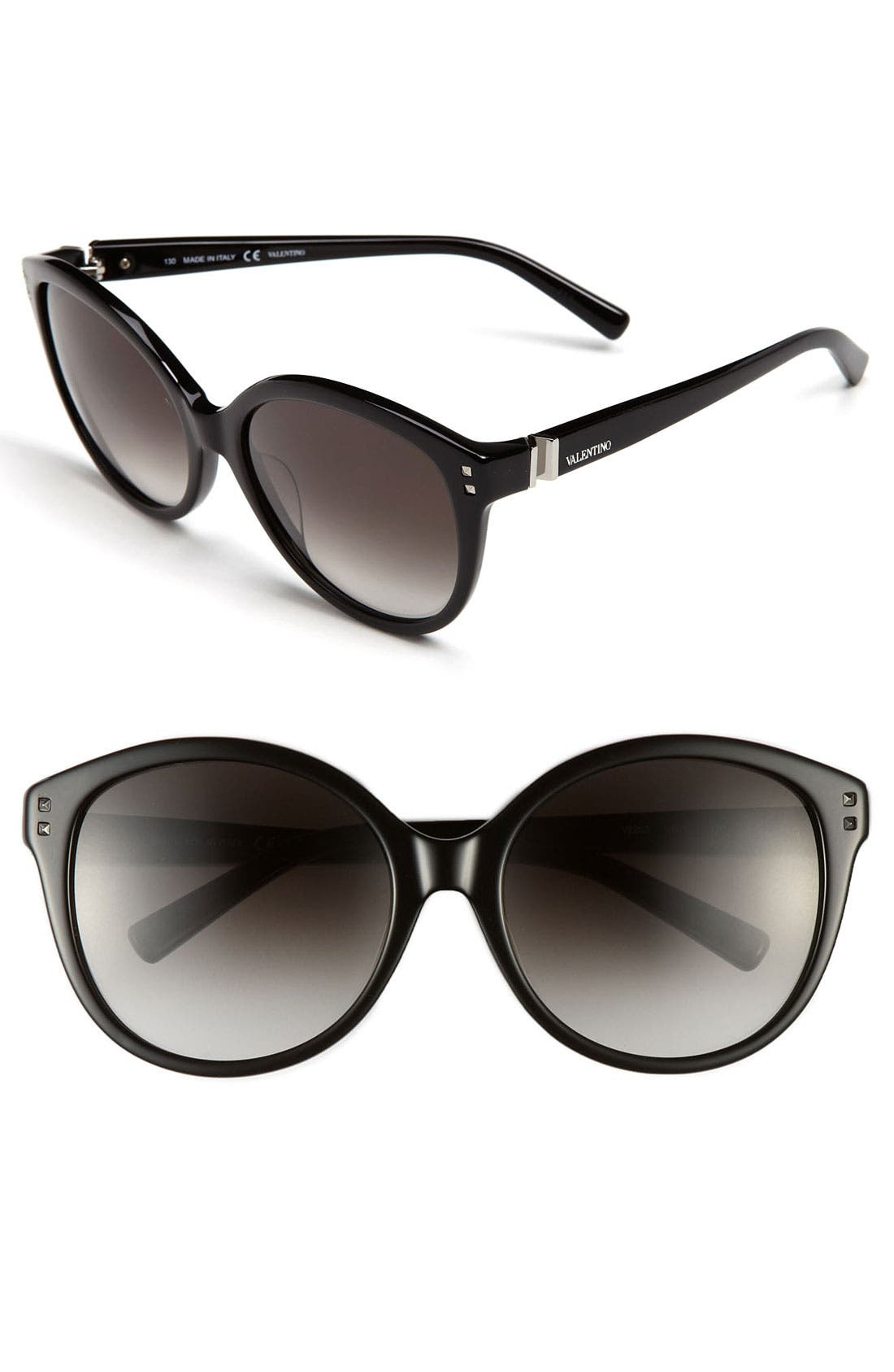 Alternate Image 1 Selected - Valentino 57mm Oversized Sunglasses