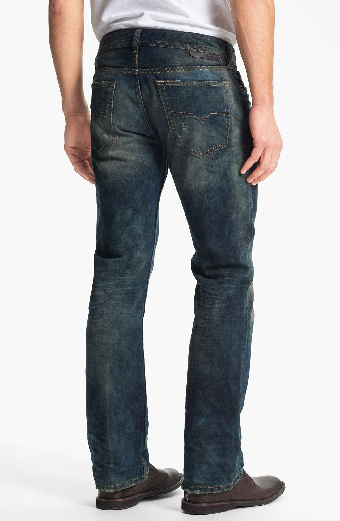 Alternate Image 1 Selected - DIESEL® 'New Fanker' Bootcut Jeans (0075L)