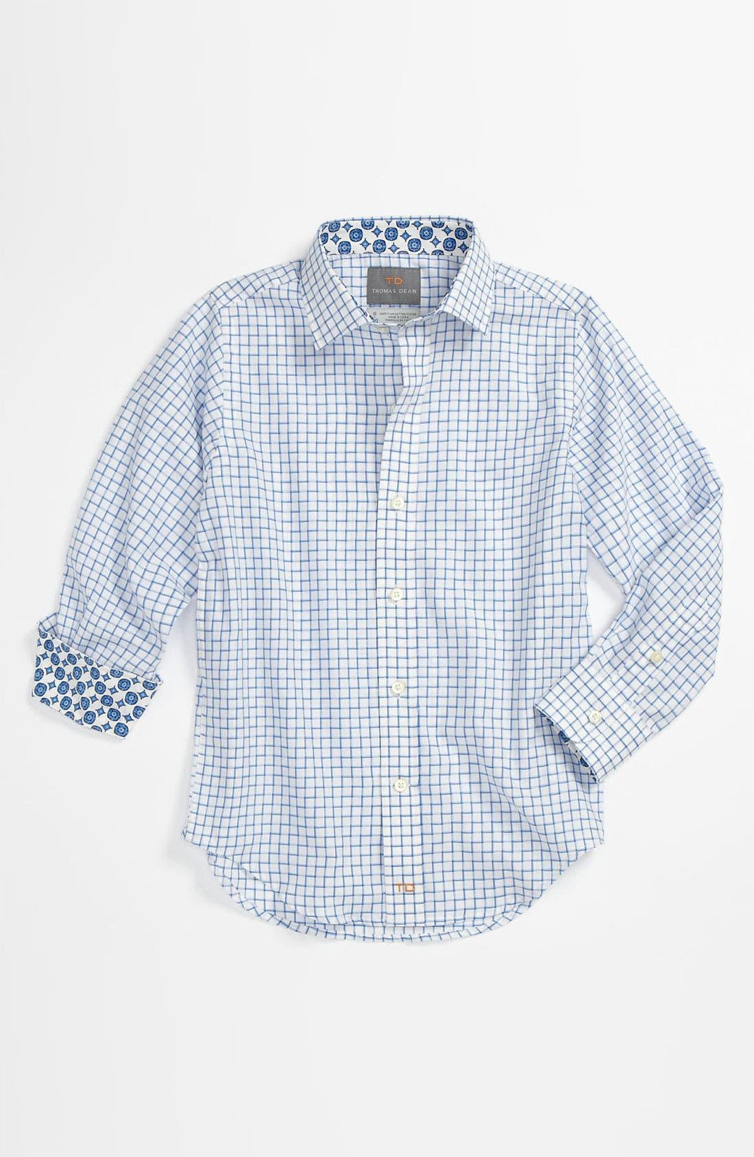 Alternate Image 1 Selected - Thomas Dean Dress Shirt (Little Boys)