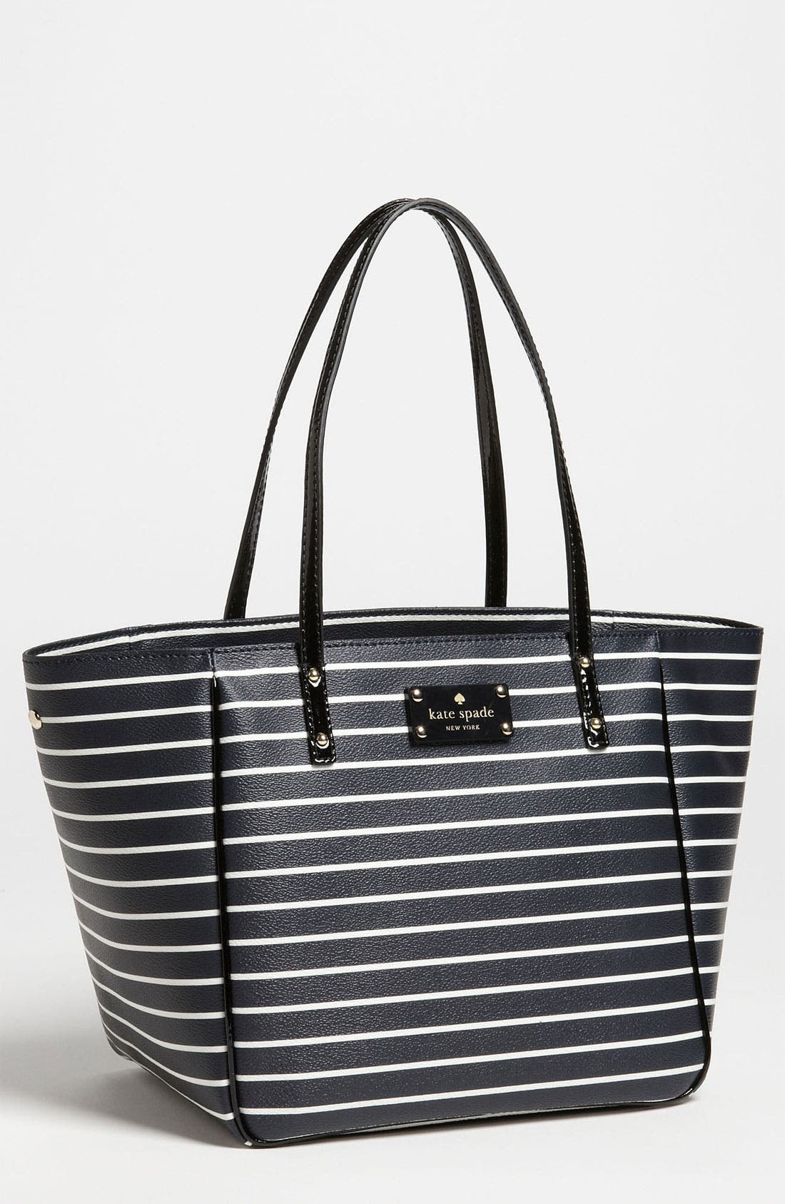 Alternate Image 1 Selected - kate spade new york 'city stripe - sidney small' tote