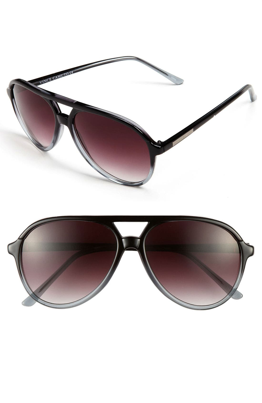 Main Image - Vince Camuto 60mm Aviator Sunglasses