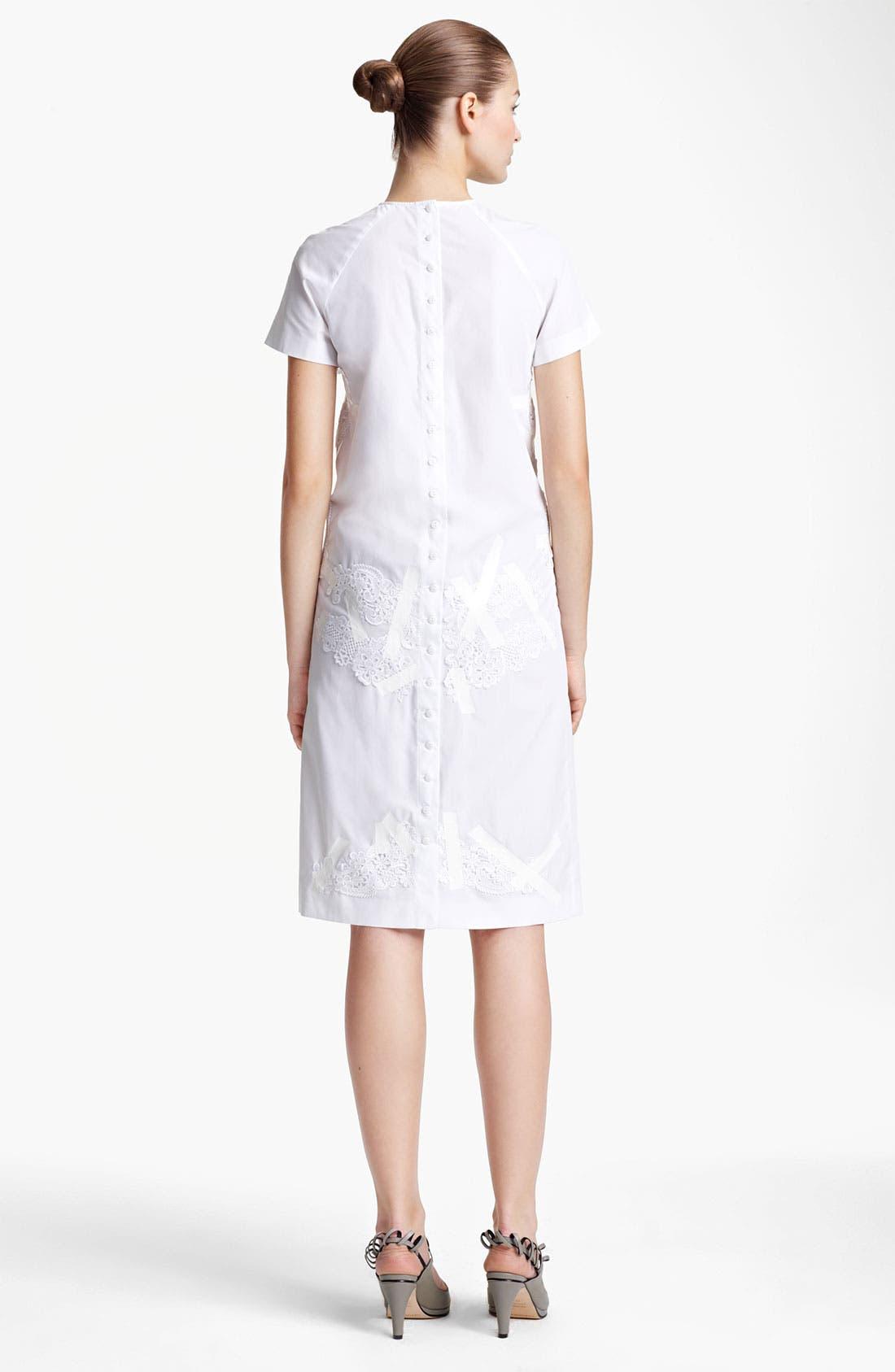 Alternate Image 2  - Christopher Kane Lace & Tape Detail Shift Dress