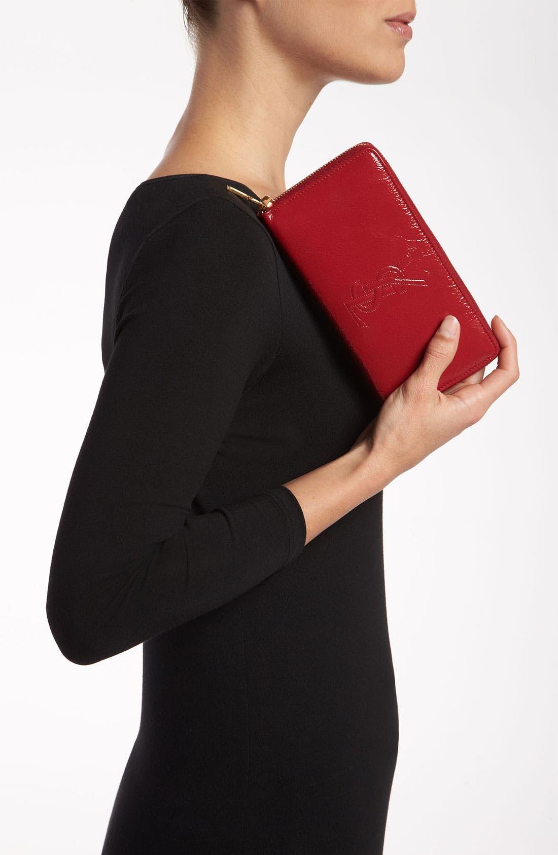 Alternate Image 2  - Saint Laurent 'Belle de Jour' Leather Wallet