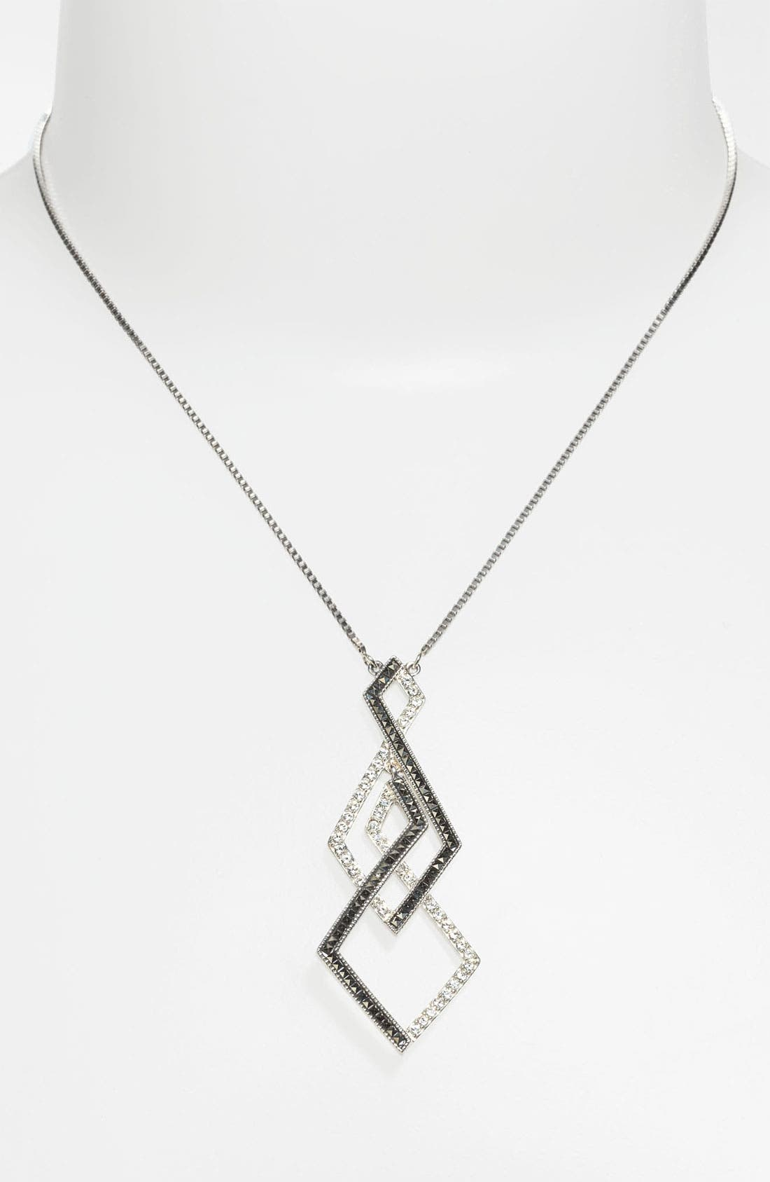 Alternate Image 1 Selected - Judith Jack 'Caged In' Pendant Necklace