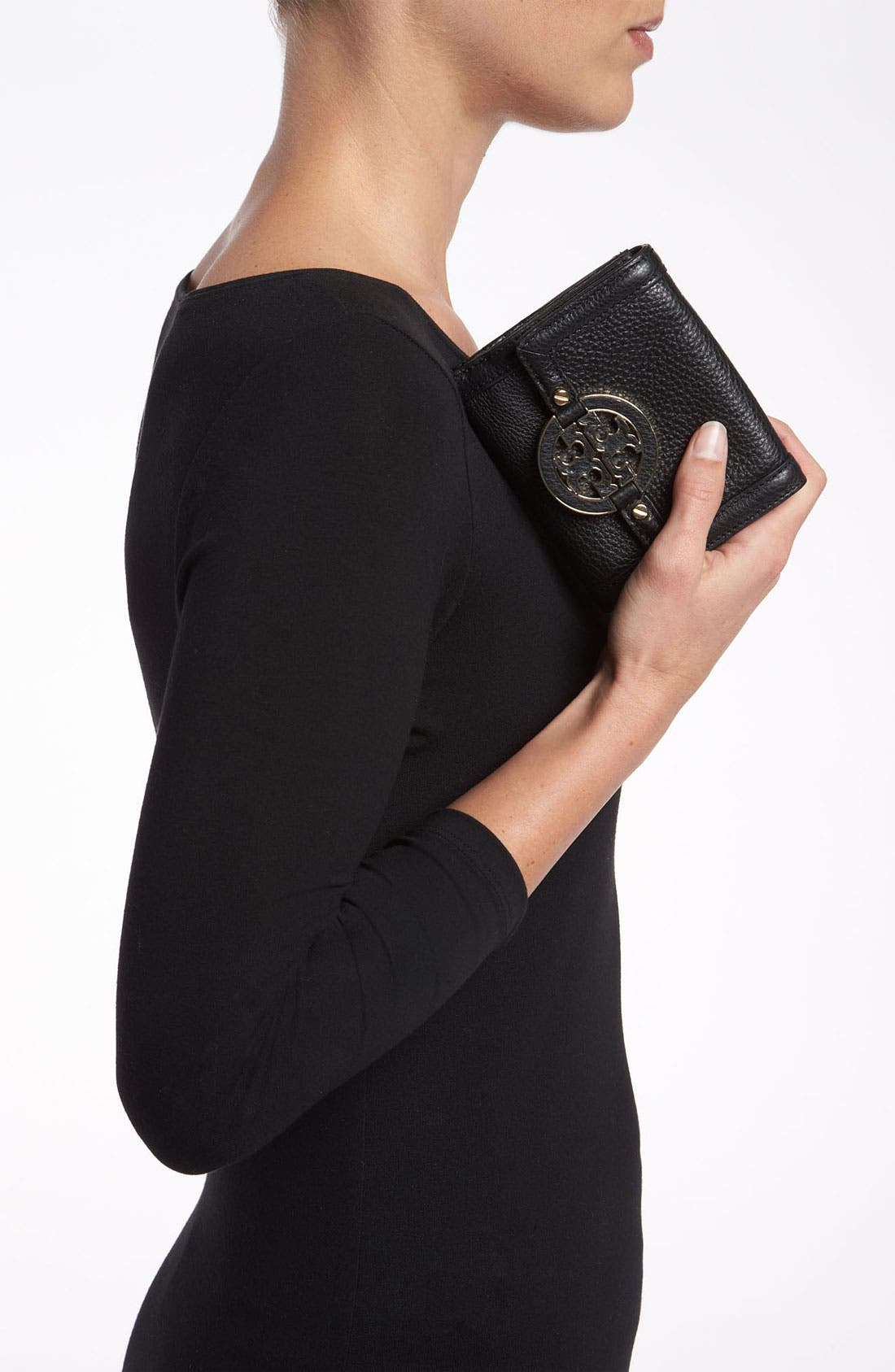 Alternate Image 2  - Tory Burch 'Amanda' Double Flap French Wallet