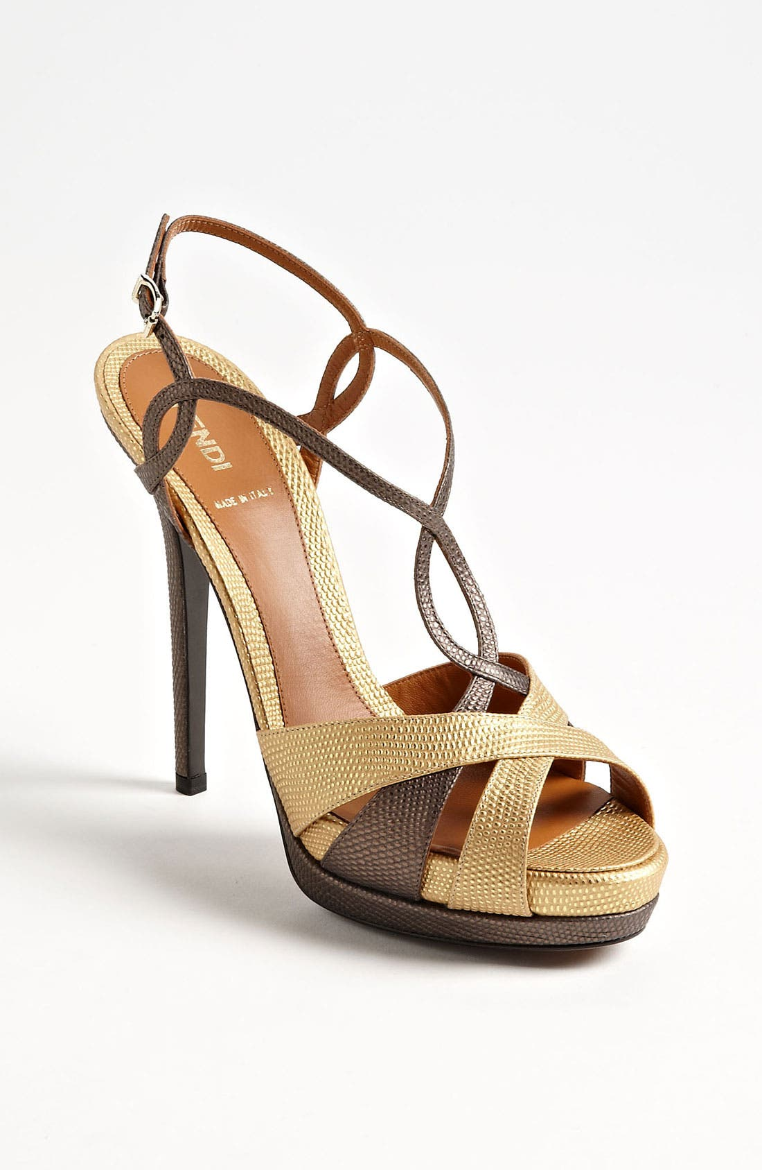 Alternate Image 1 Selected - Fendi 'Twisted' Platform Sandal