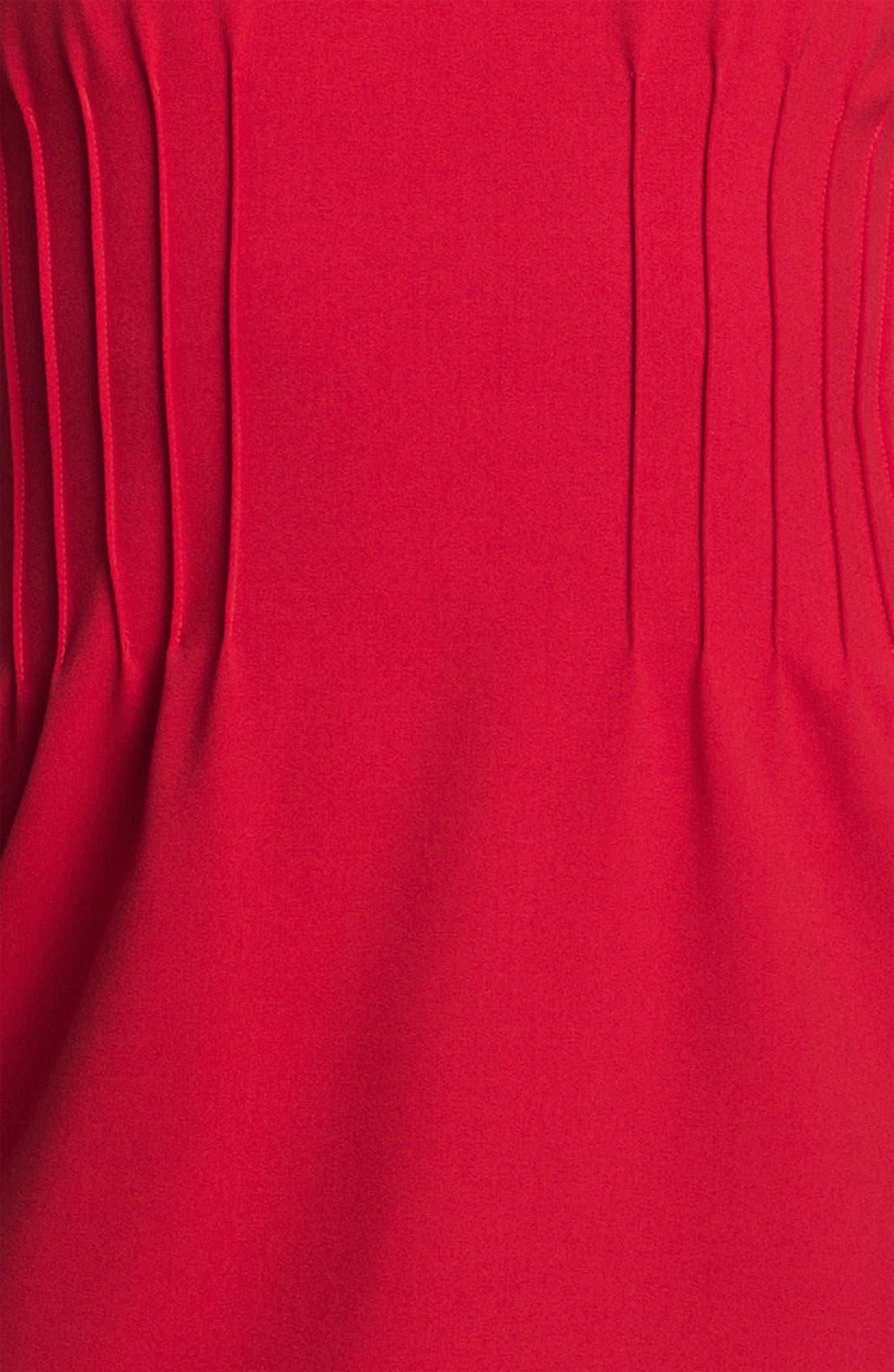 Alternate Image 3  - Calvin Klein Sleeveless Pintuck Dress