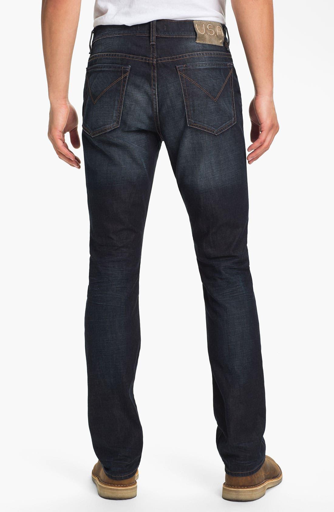 Alternate Image 2  - John Varvatos Star USA 'Fisher' Straight Leg Jeans (Storm)
