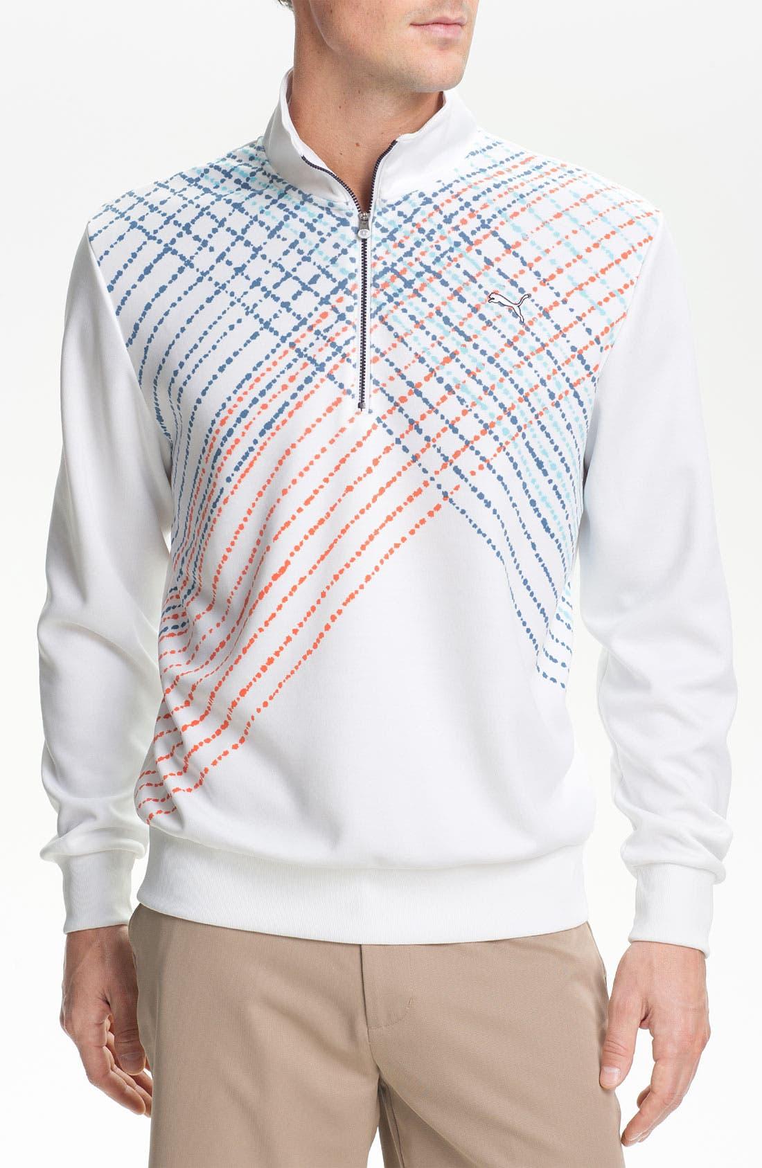 Main Image - PUMA GOLF 'Popover' Quarter Zip Pullover