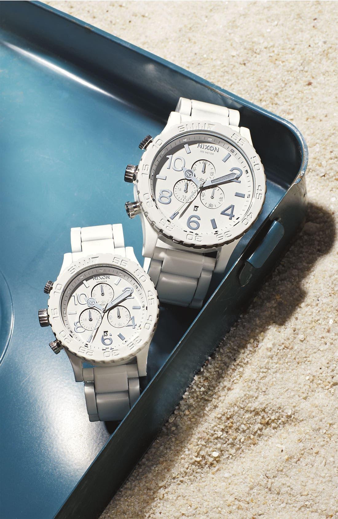 Alternate Image 2  - Nixon 'The 42-20 Chrono Chromacoat' Watch