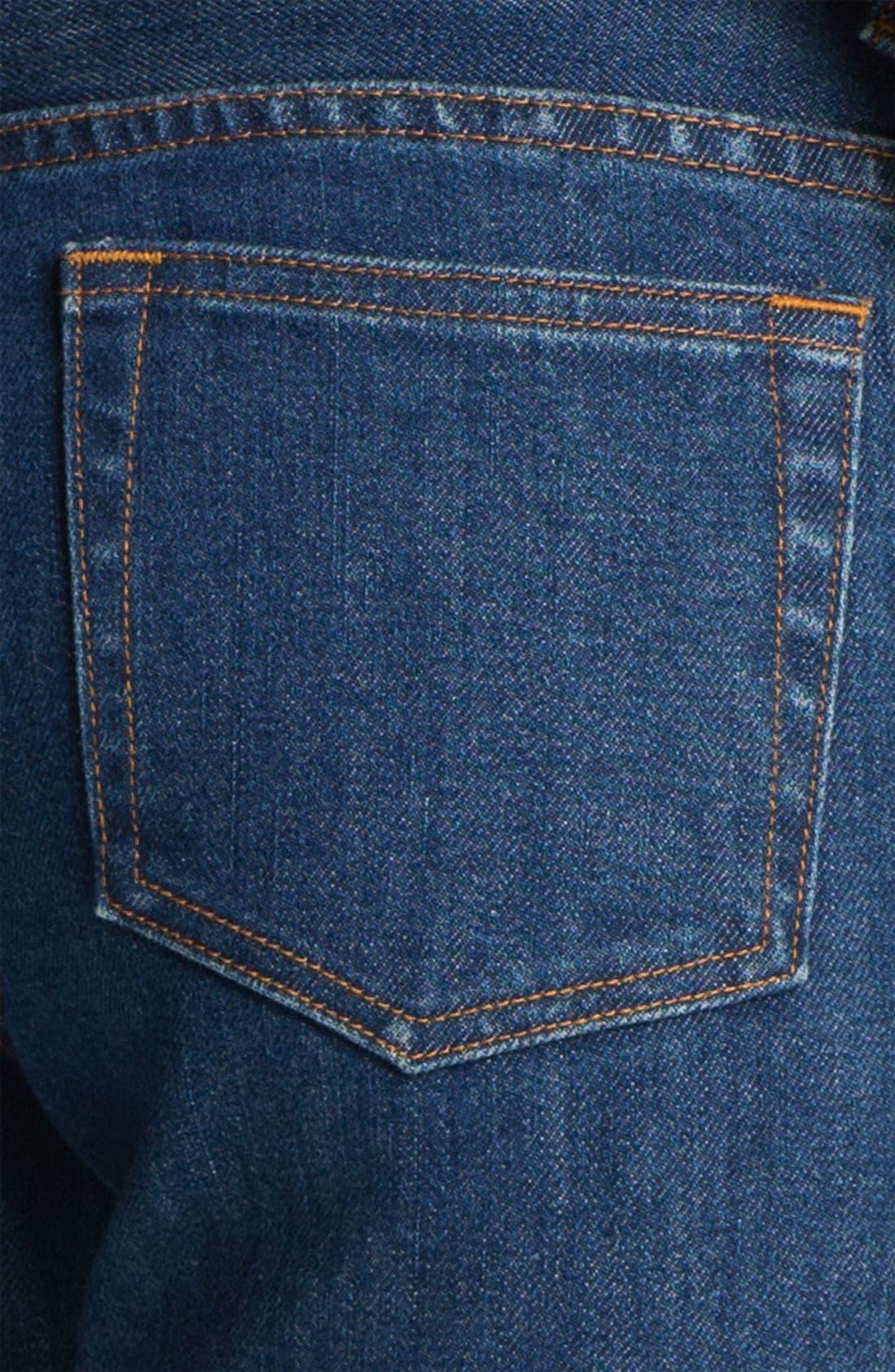 Alternate Image 5  - A.P.C. Slim Leg Crop Jeans