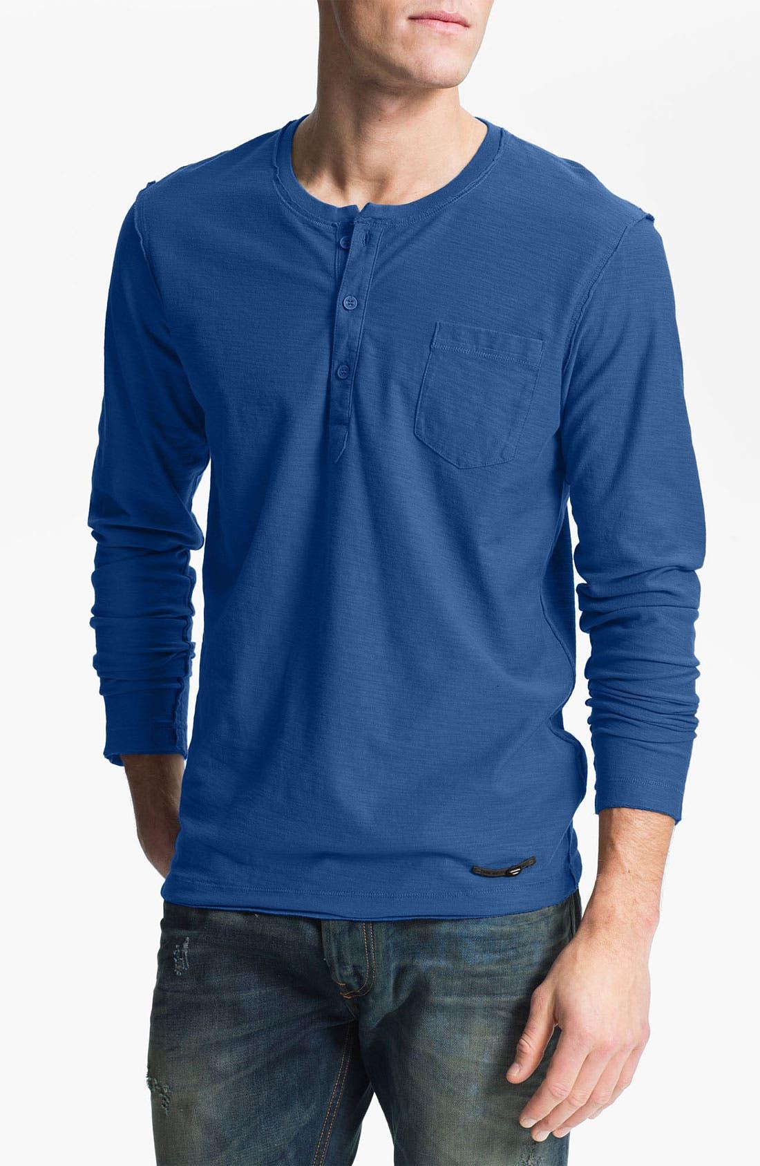Main Image - DIESEL® 'T-Canopy' Henley T-Shirt