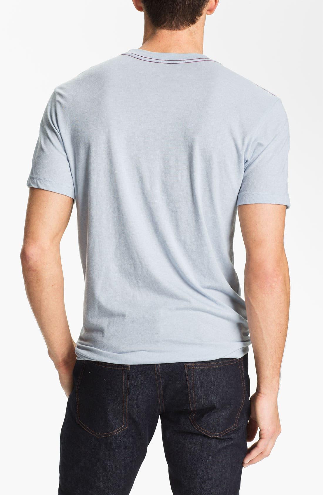 Alternate Image 2  - RVCA 'Big RVCA Logo' T-Shirt