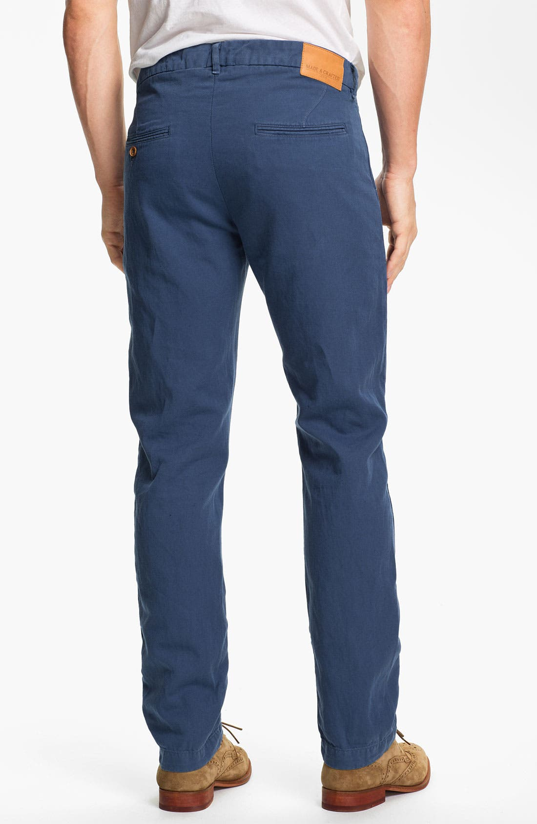 Alternate Image 2  - Levi's® Made & Crafted™ 'Spoke' Cotton & Linen Chinos