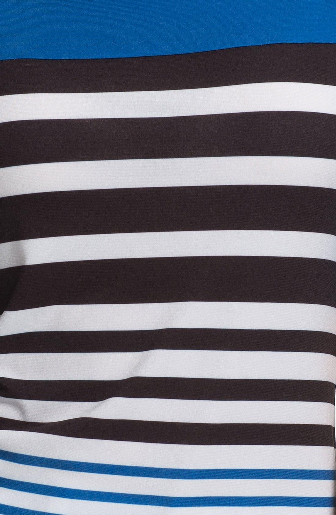 Alternate Image 3  - ECI Elbow Sleeve Stripe Tee