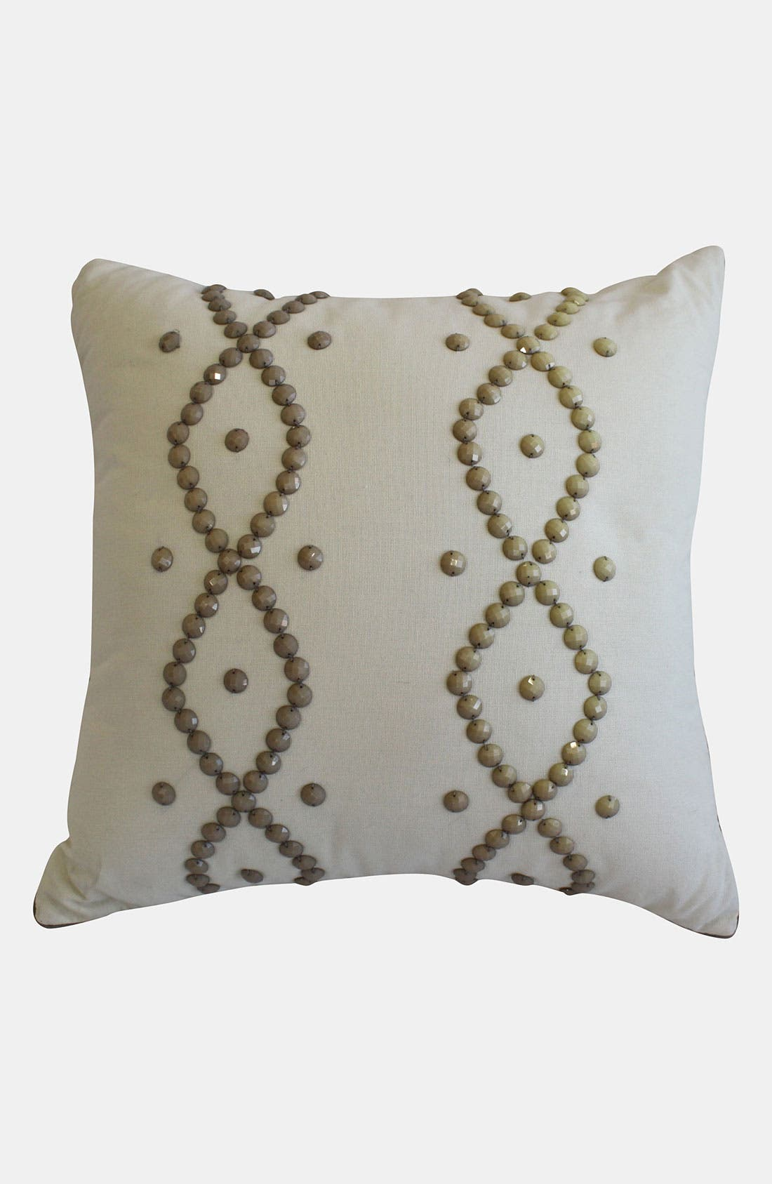 Alternate Image 1 Selected - Laundry by Shelli Segal 'Zoe' Beaded Pillow