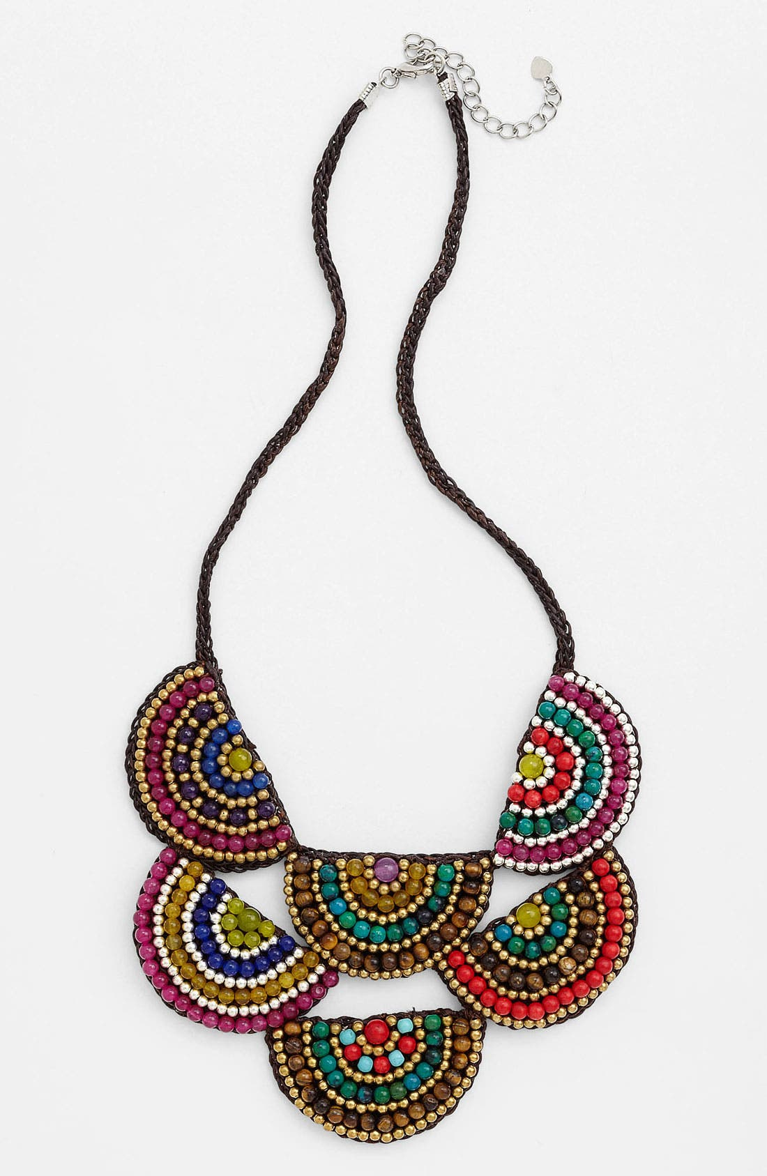 Main Image - Panacea Two Tier Corded Rope Necklace