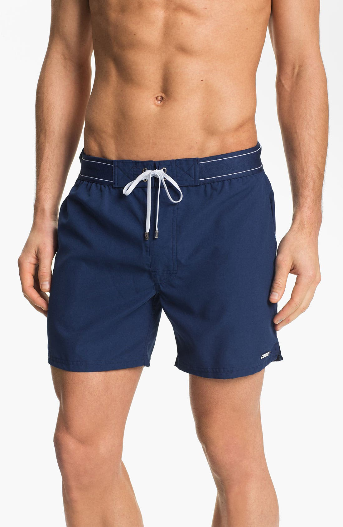 Alternate Image 1 Selected - 2(x)ist 'Core - Hampton' Board Shorts (Online Only)