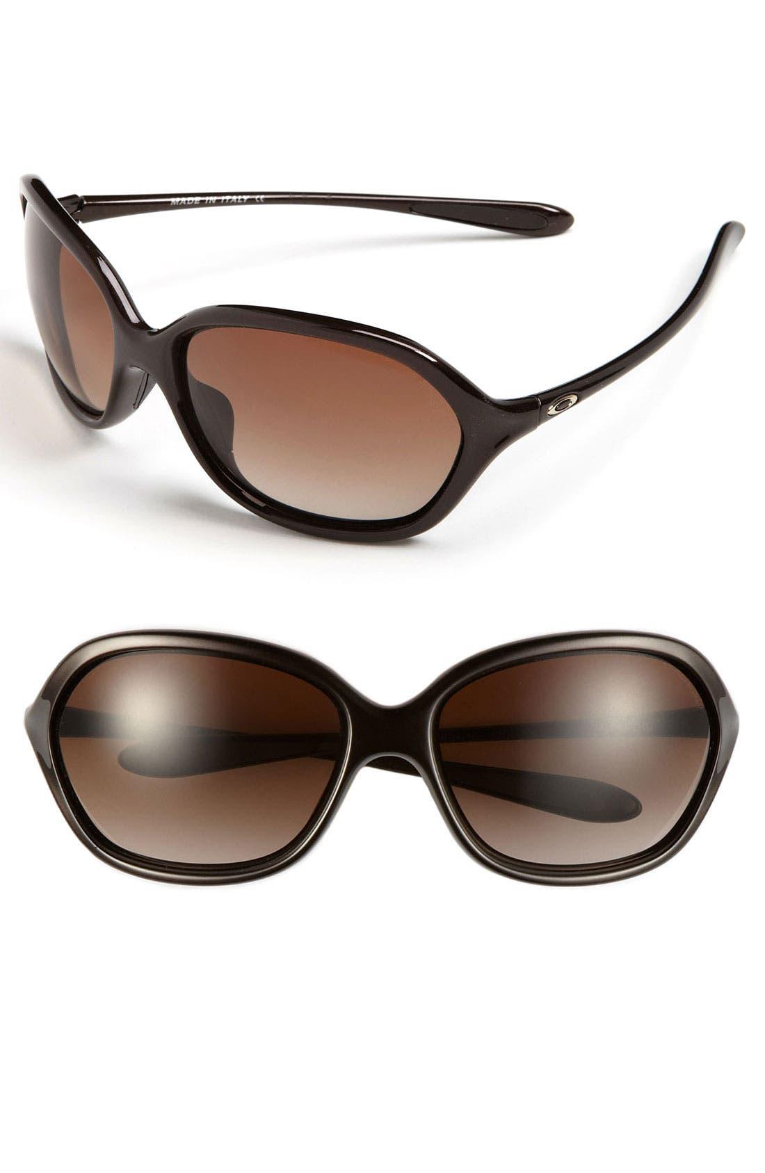 Main Image - Oakley 'Warm Up' 60mm Sunglasses