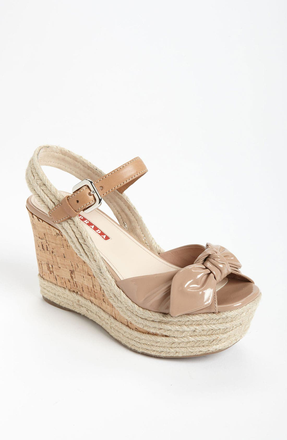 Main Image - Prada Wedge Sandal
