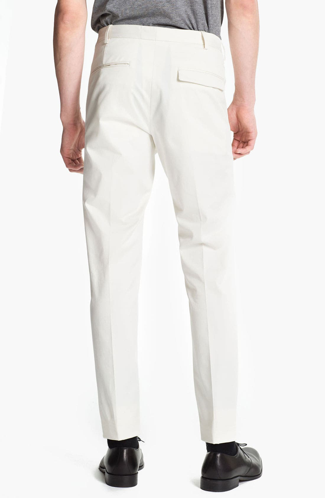 Alternate Image 2  - Jil Sander Stretch Cotton Twill Pants