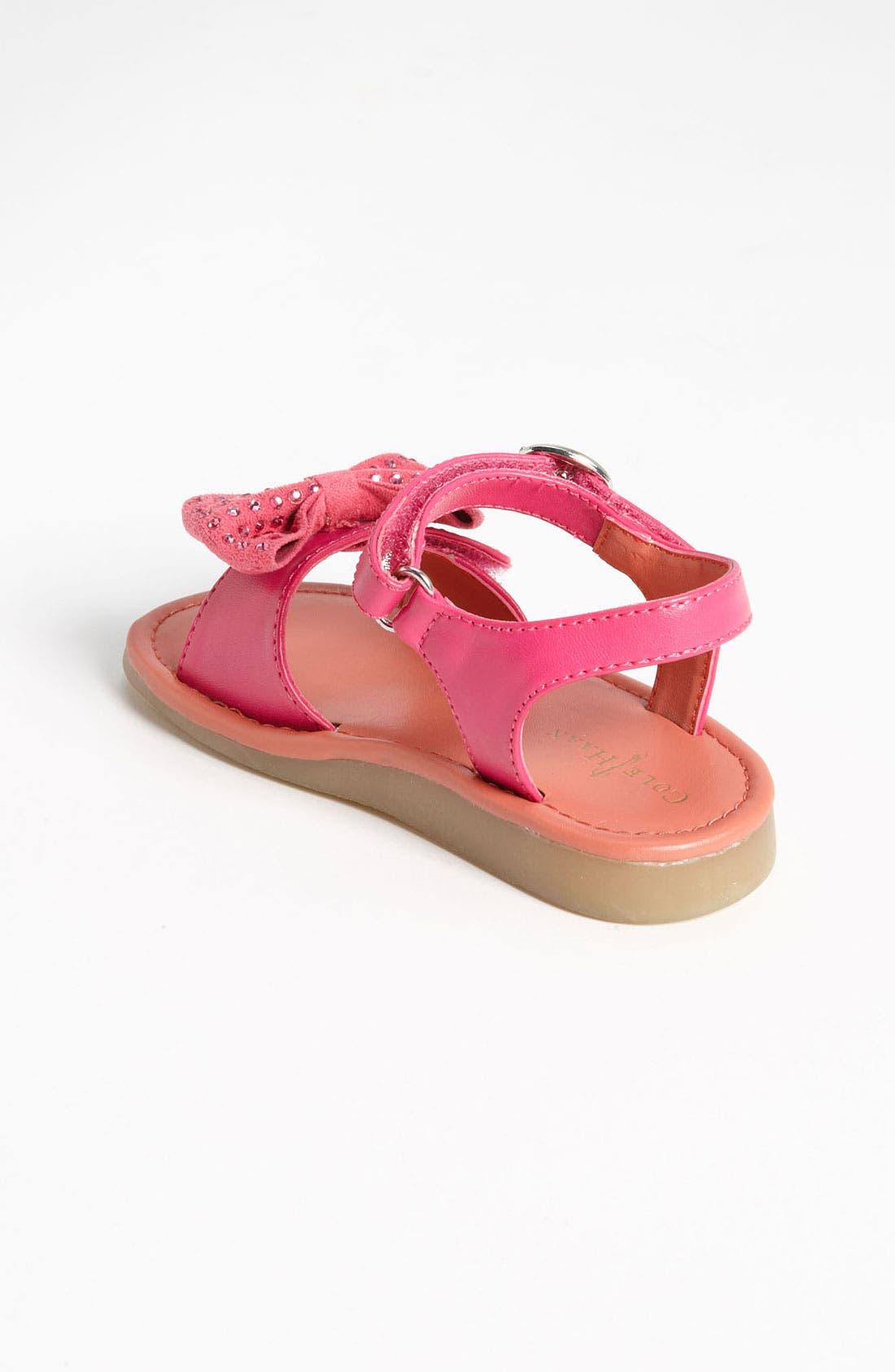 Alternate Image 2  - Cole Haan 'Apple Bow' Sandal (Walker & Toddler)
