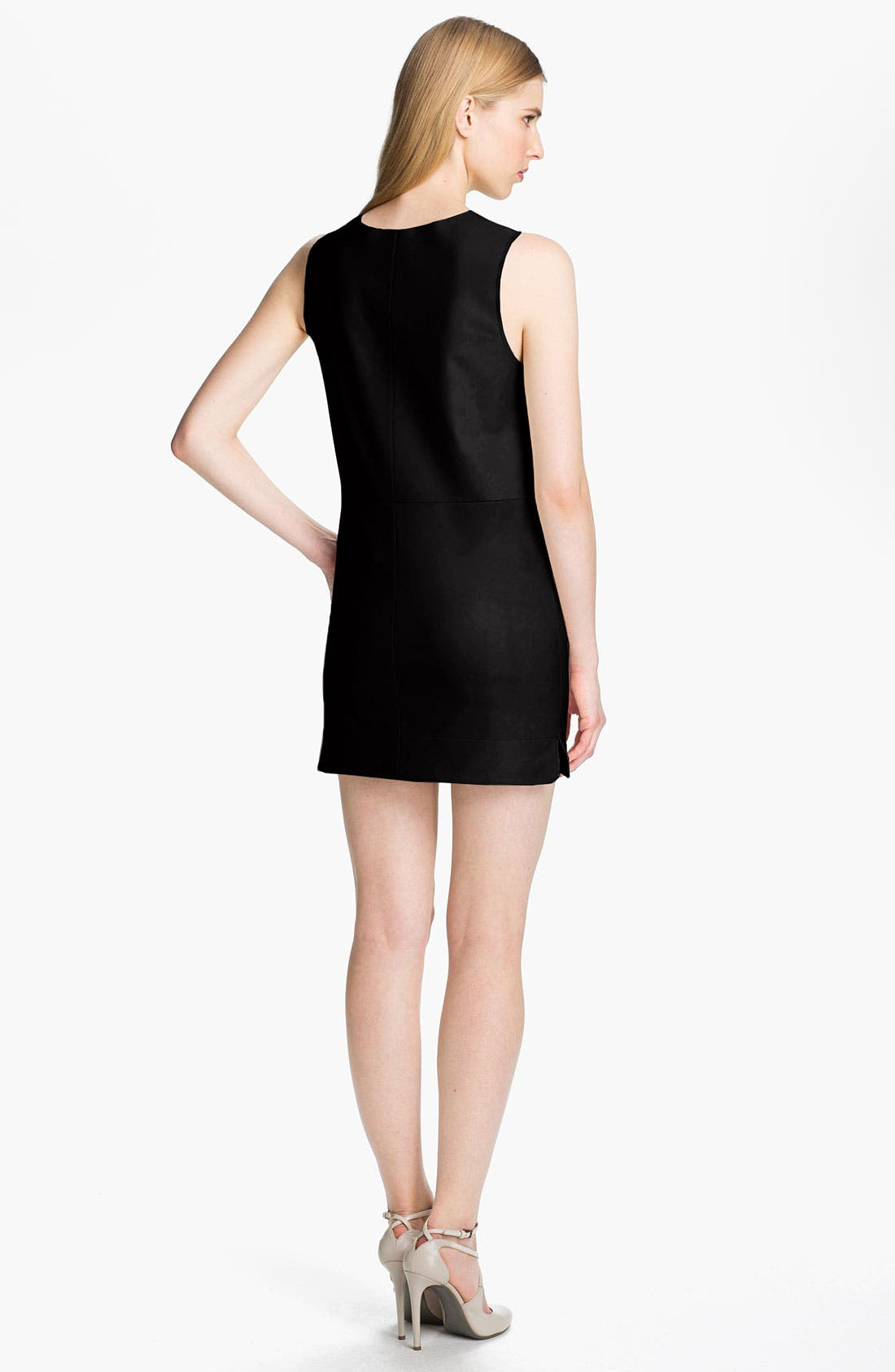 Alternate Image 2  - Robert Rodriguez Leather Shift Dress