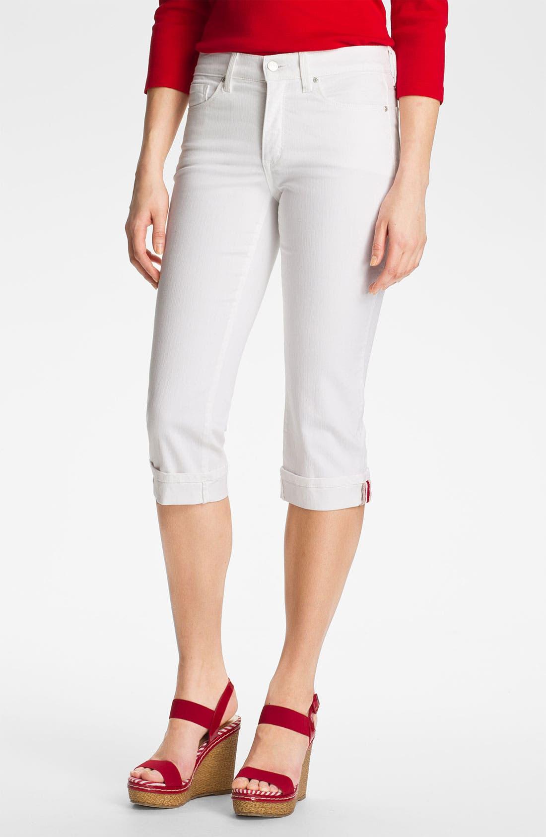 Main Image - NYDJ 'Edna' Cuffed Crop Jeans