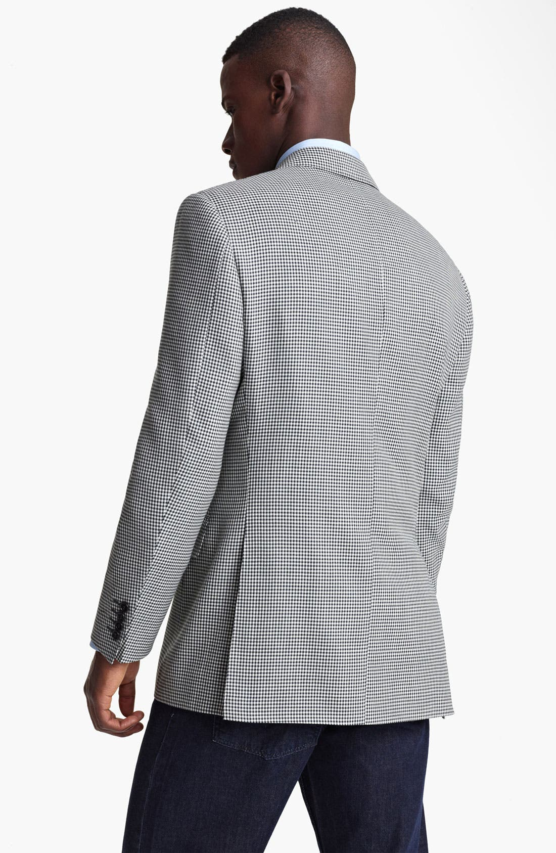 Alternate Image 2  - Canali Check Sportcoat