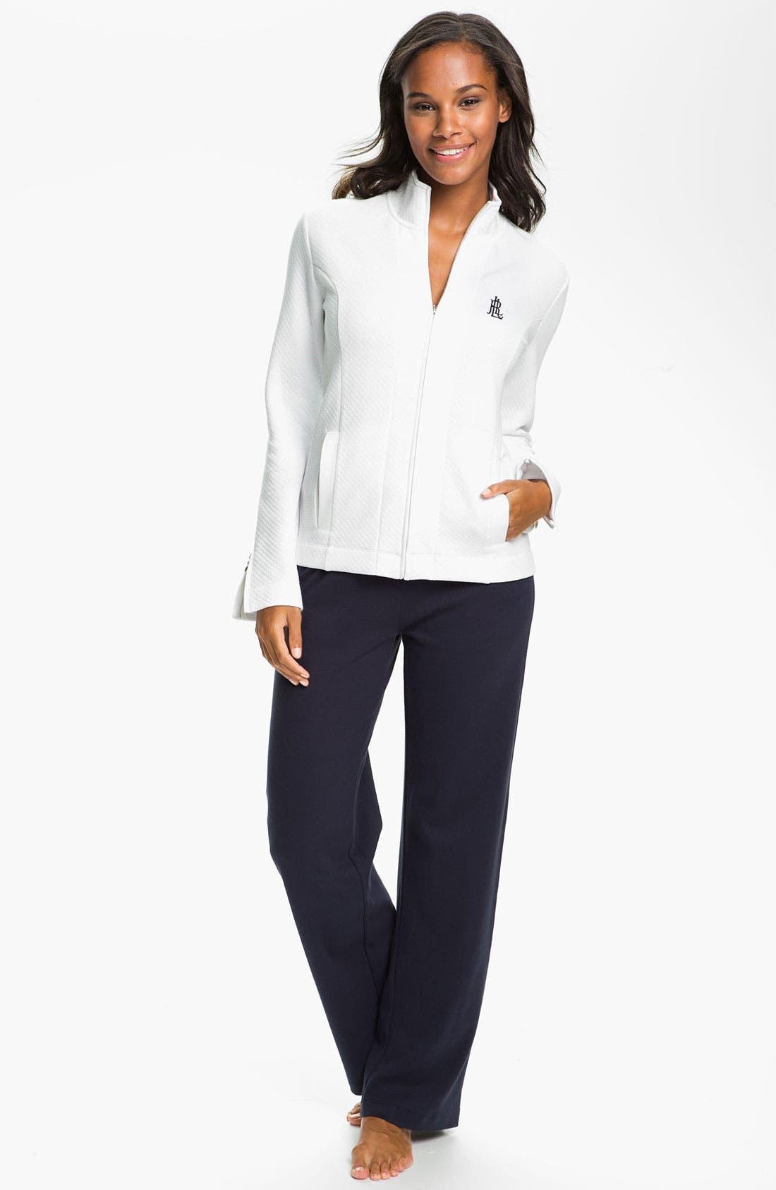 Alternate Image 7  - Lauren Ralph Lauren Sleepwear Lounge Pants