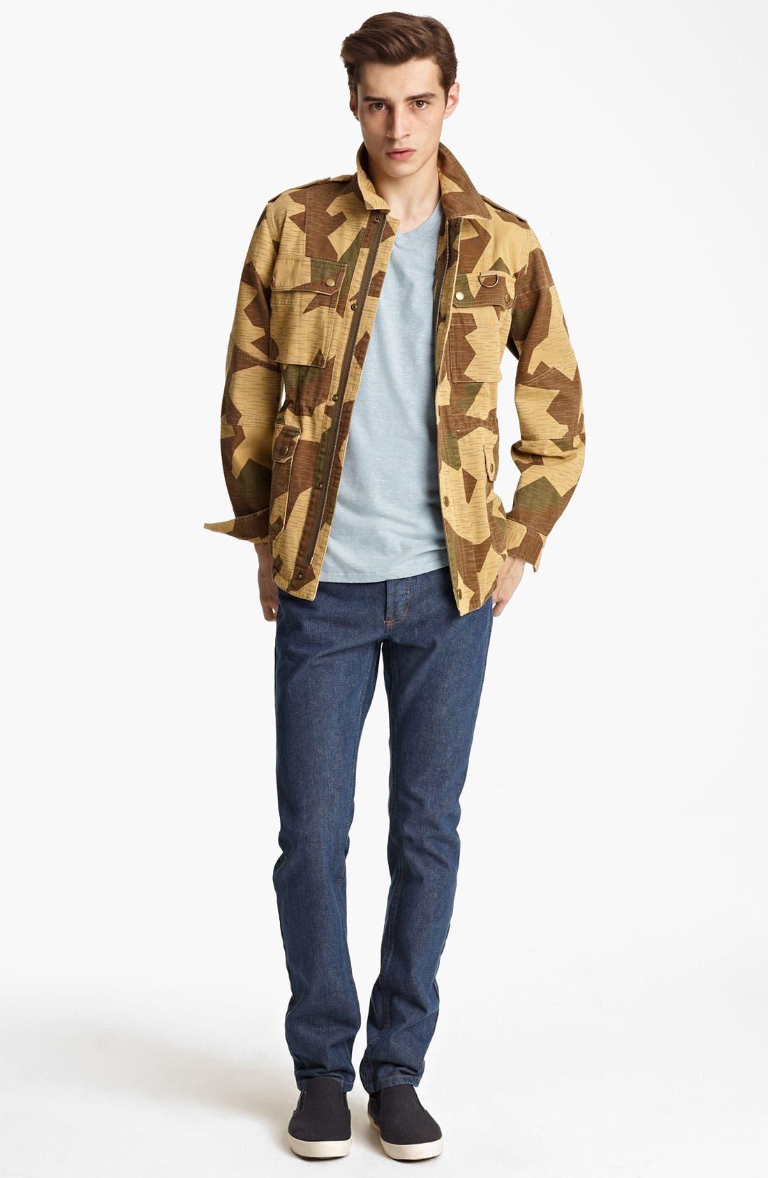 Alternate Image 4  - A.P.C. Camo Coat