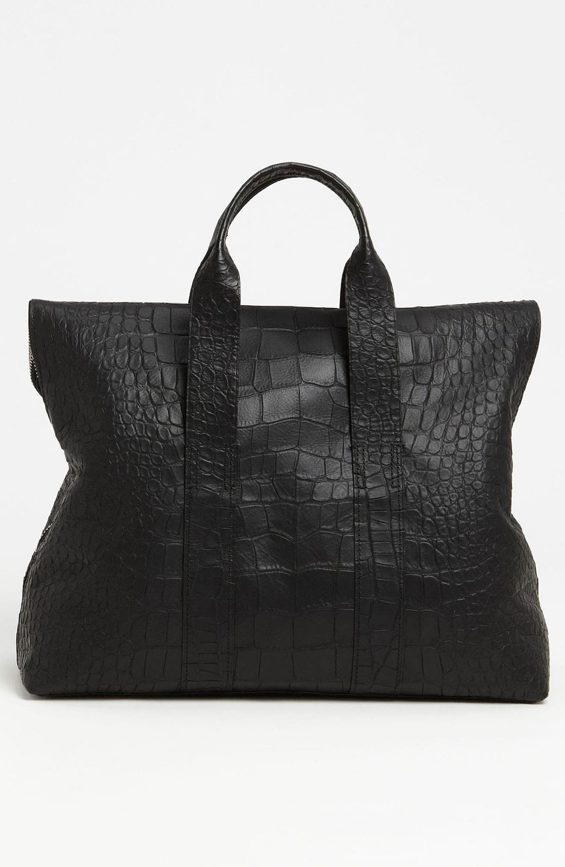 Alternate Image 3  - 3.1 Phillip Lim '31 Hour' Croc Embossed Leather Tote